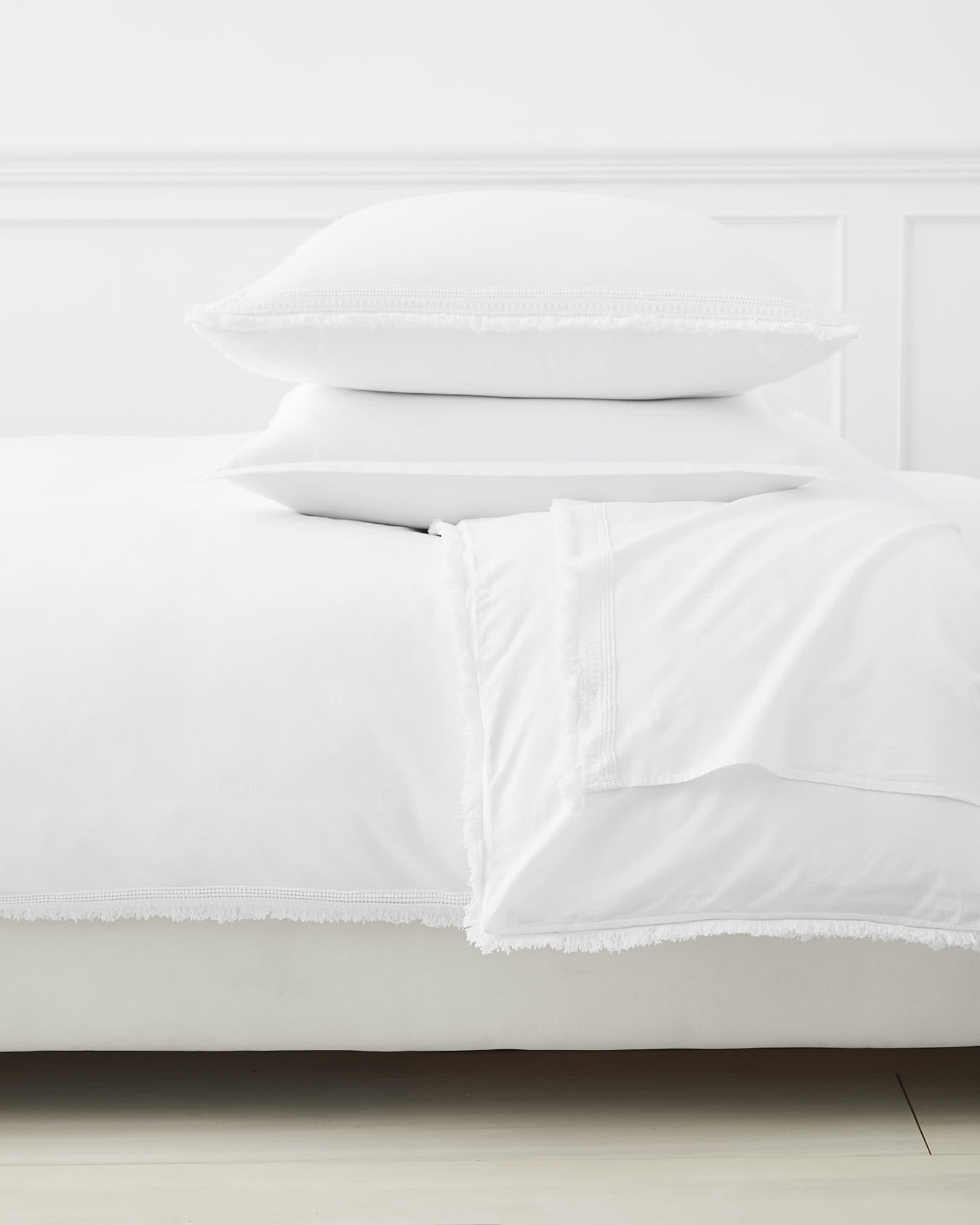 Solana Bedding Set, White