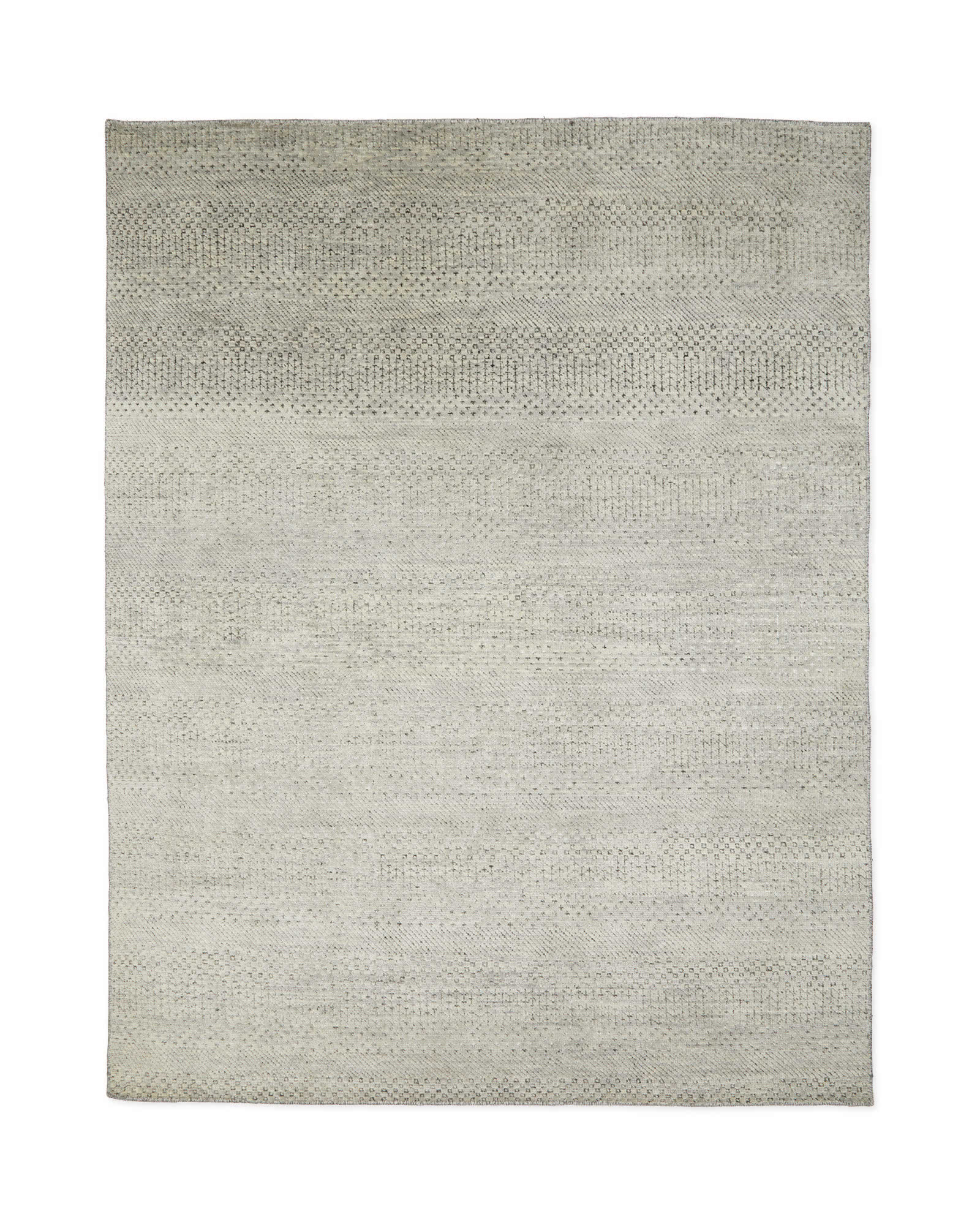 Dipsea Hand-Knotted Rug, Fog