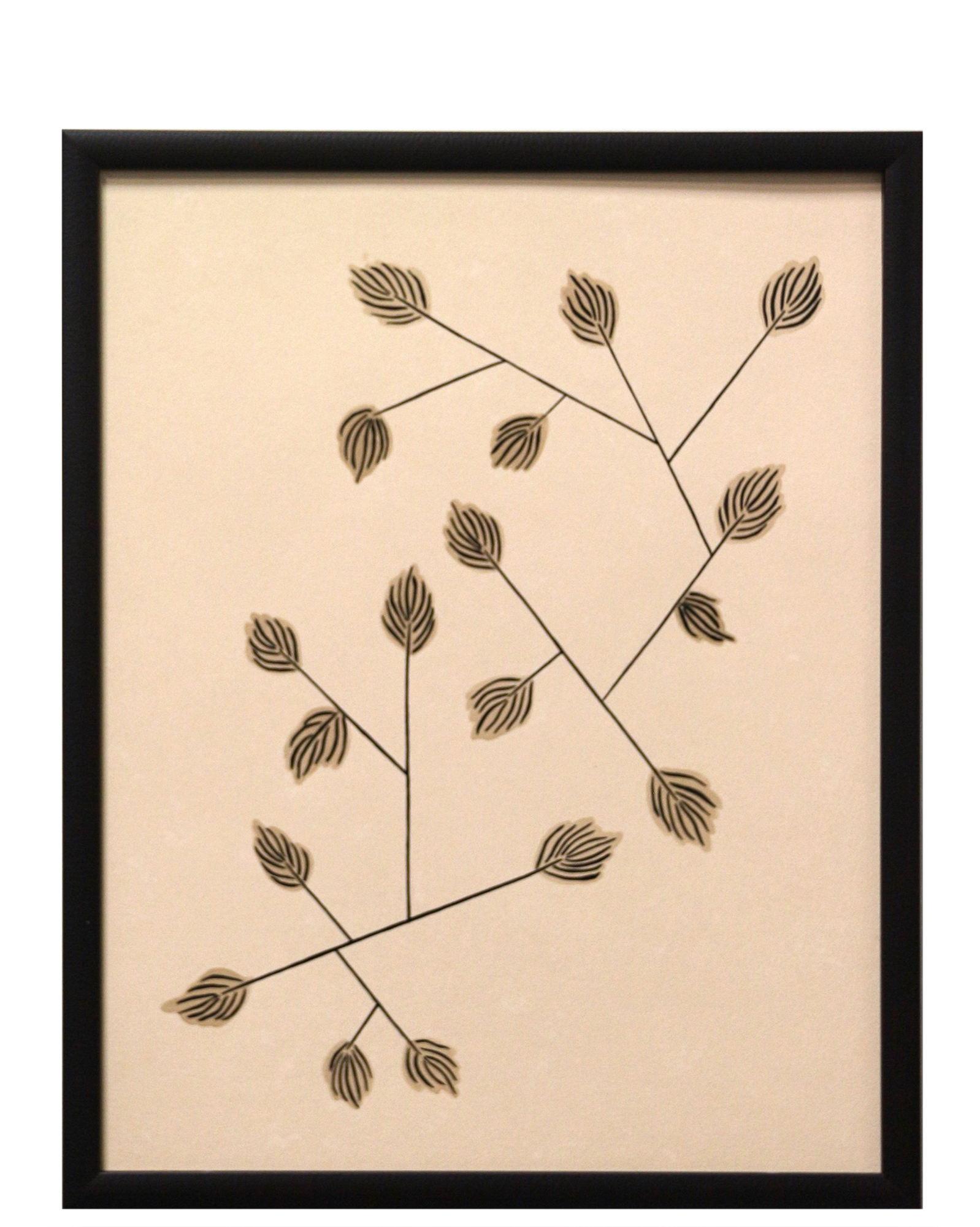 """Abstract Pine Branches"" by Katherine George,"