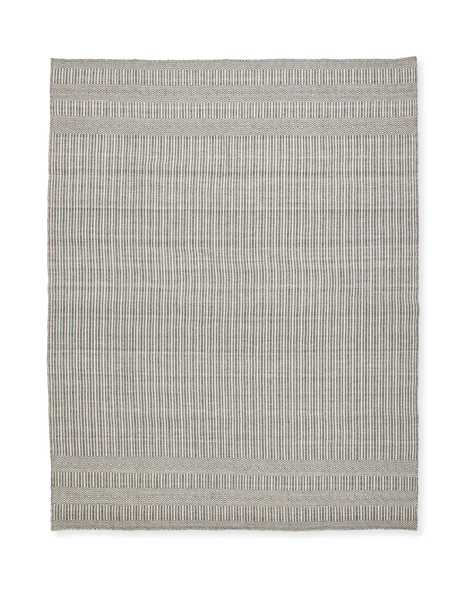 Turnstone Rug, Heathered Grey
