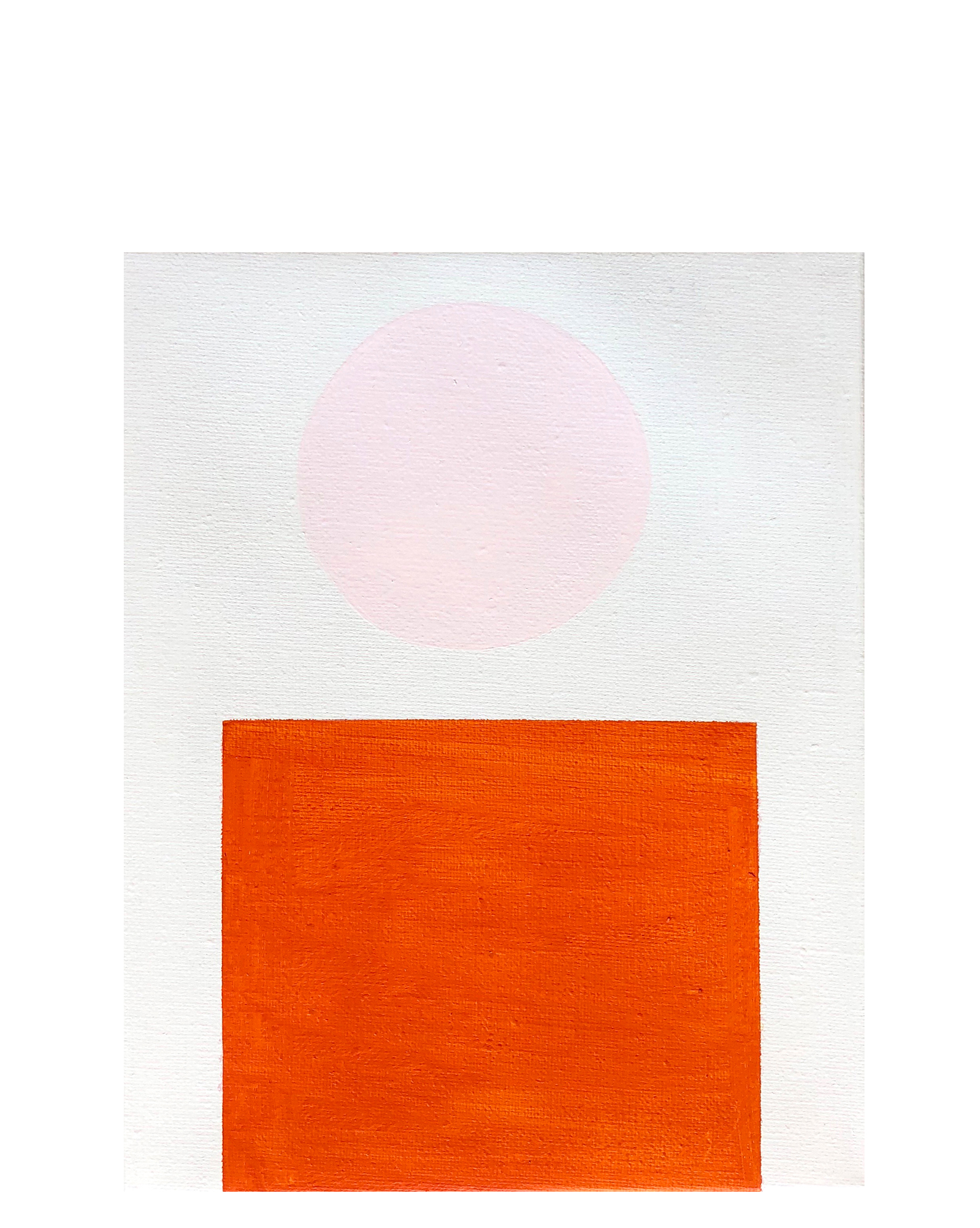 """""""Orange and Pink Color Study"""" by Laurie Fisher,"""