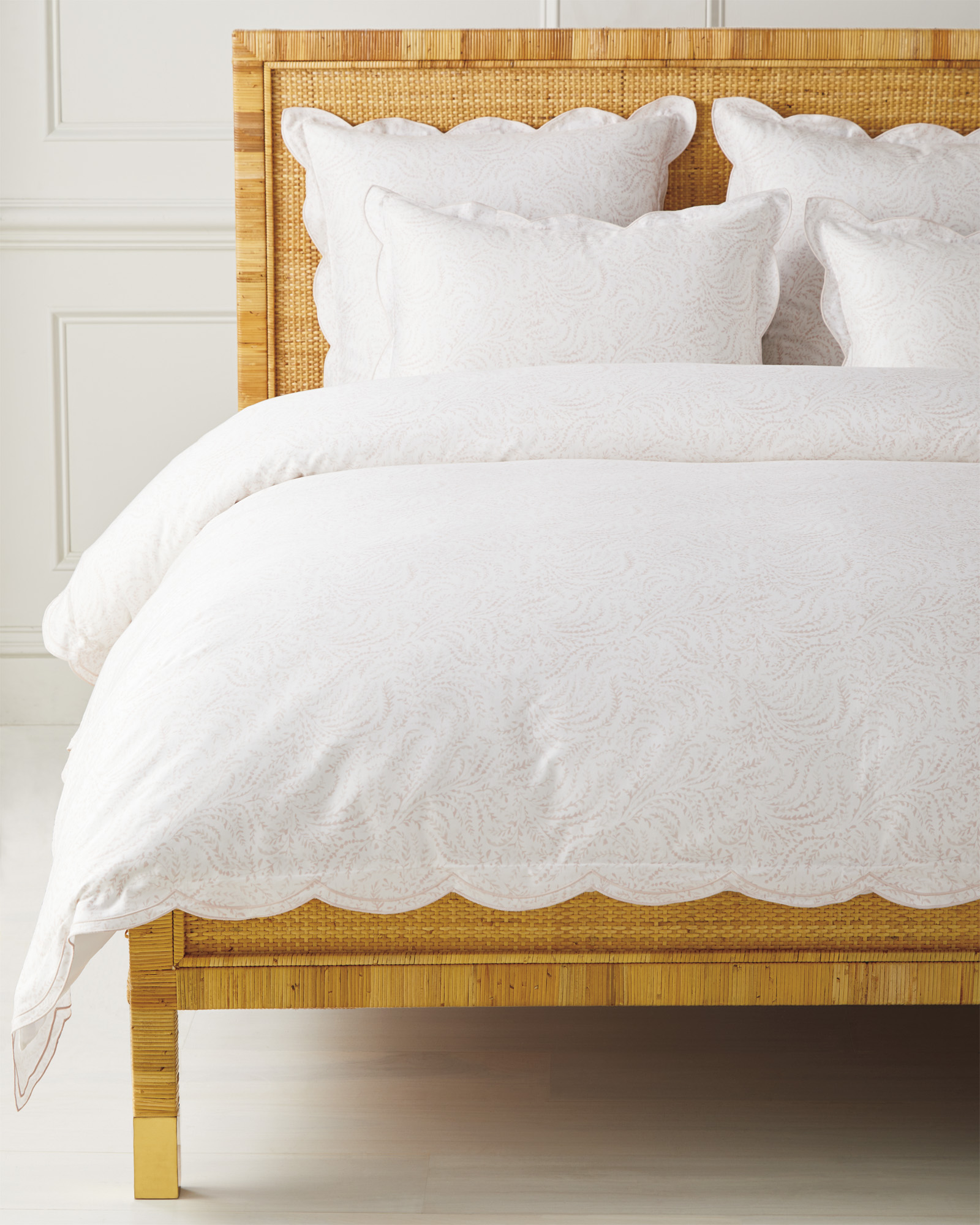 Priano Duvet Cover, Pink Sand
