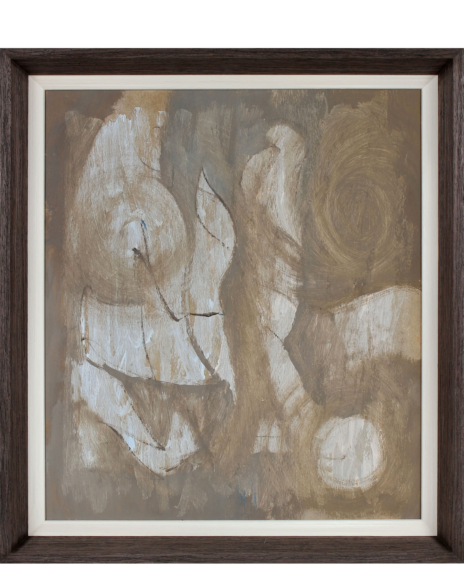 """""""Muted Monochromatic Abstract"""" by Calvin Anderson"""