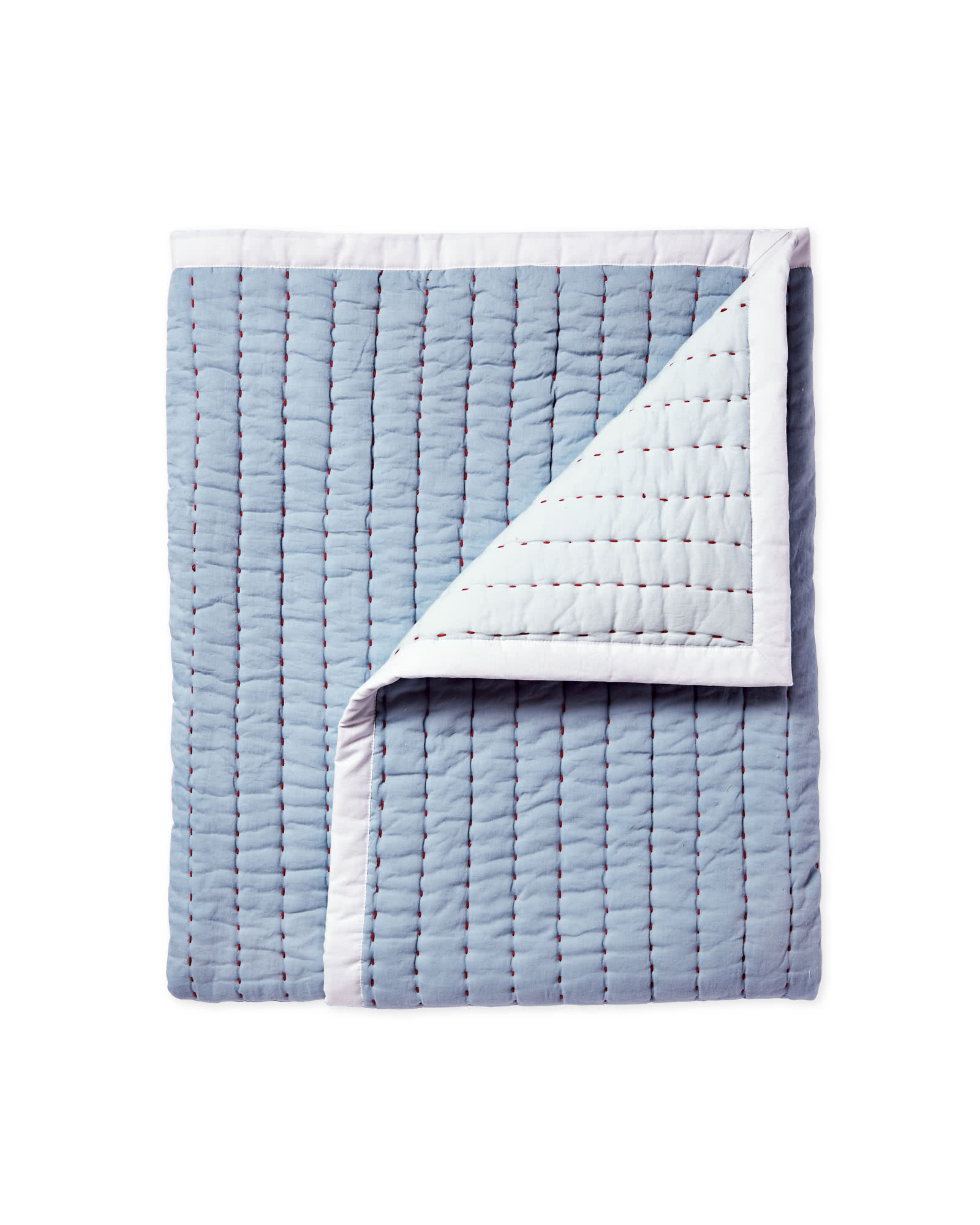 Mini Cabin Quilt, Chambray