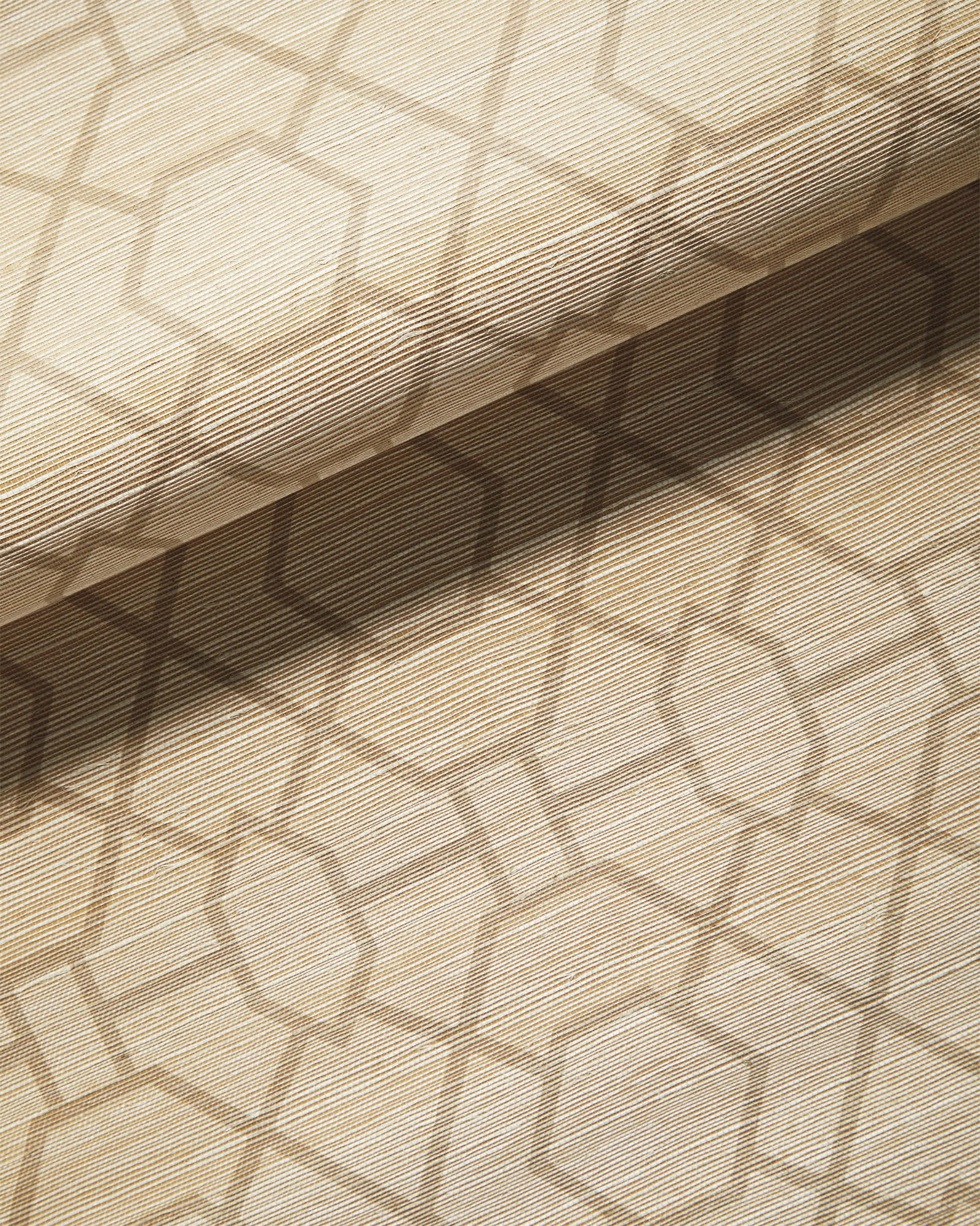 Trellis Wallpaper, Sand