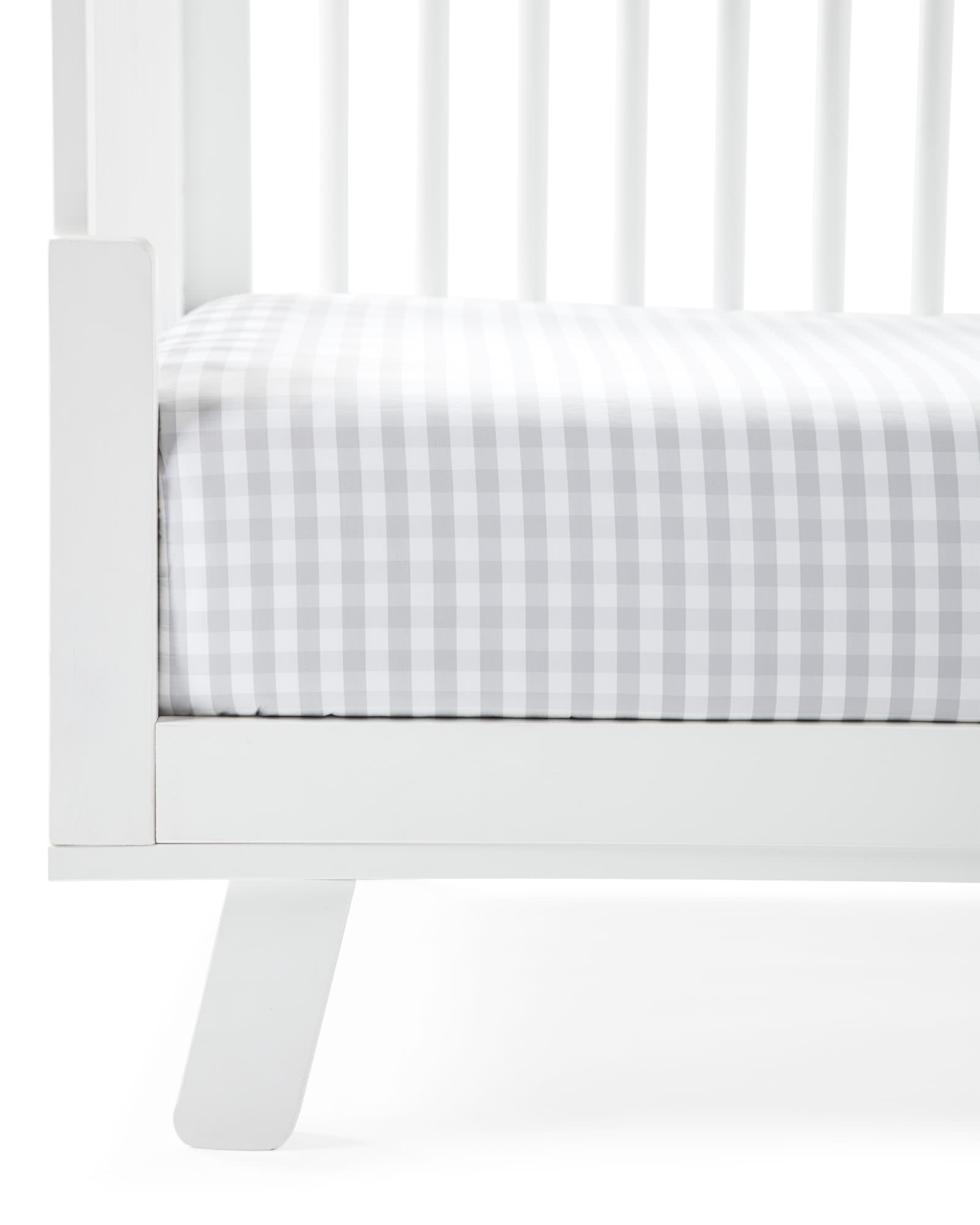 Gingham Crib Sheet,