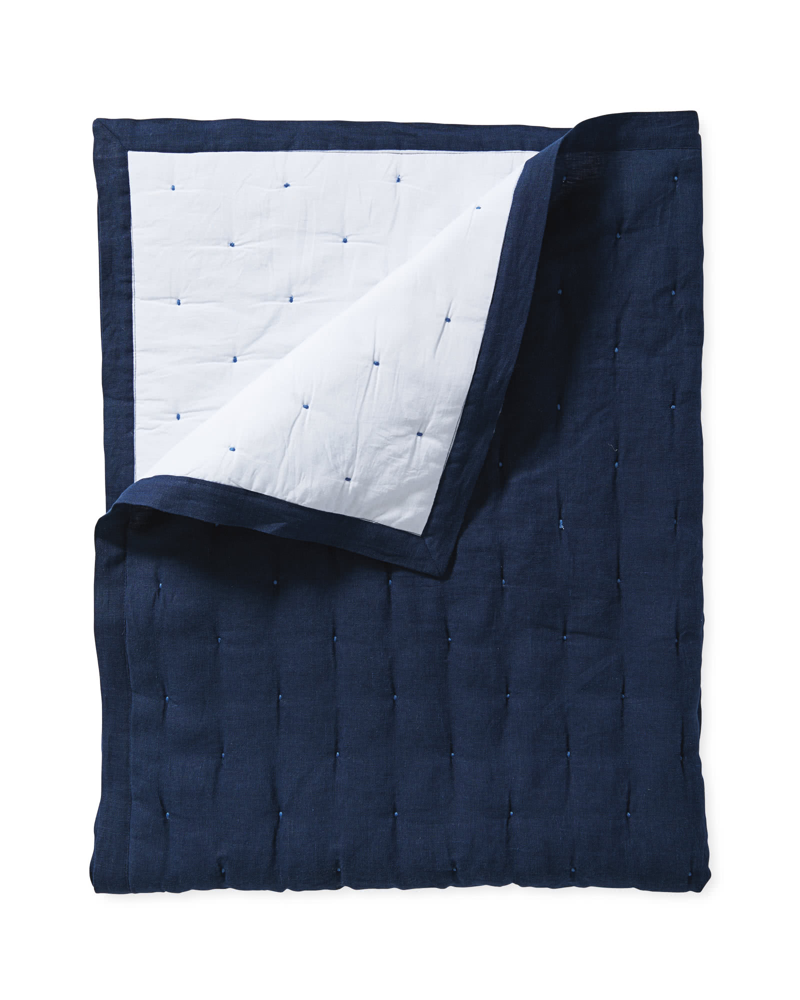 Sutter Mini Quilt, Navy