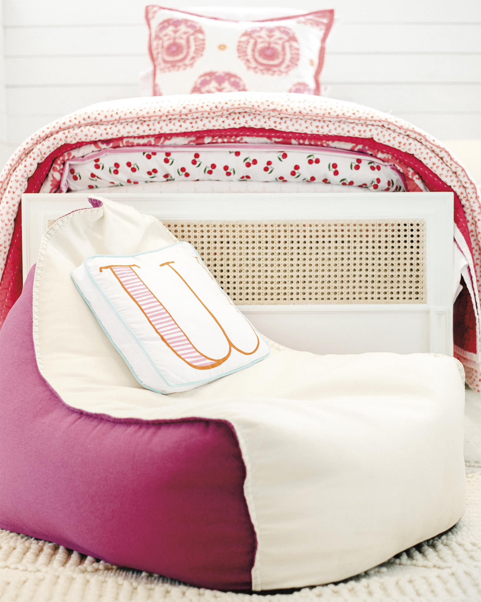 Schoolhouse Letter Pillows