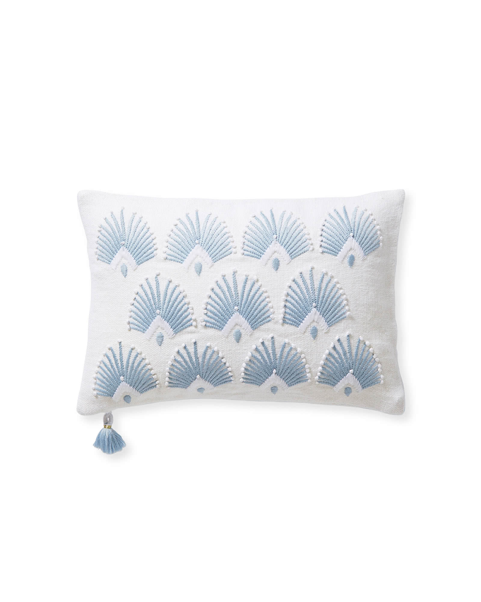Monarch Pillow Cover, Coastal Blue