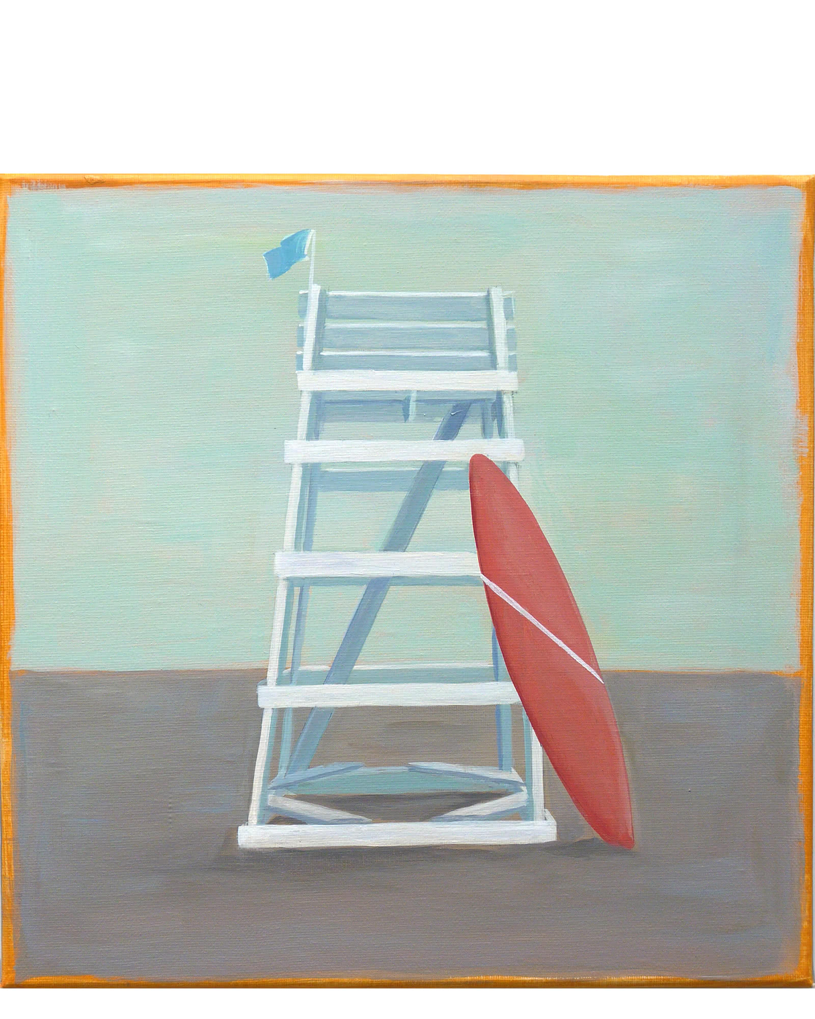 """""""Ligeguard Stand #6"""" by Carol Saxe,"""