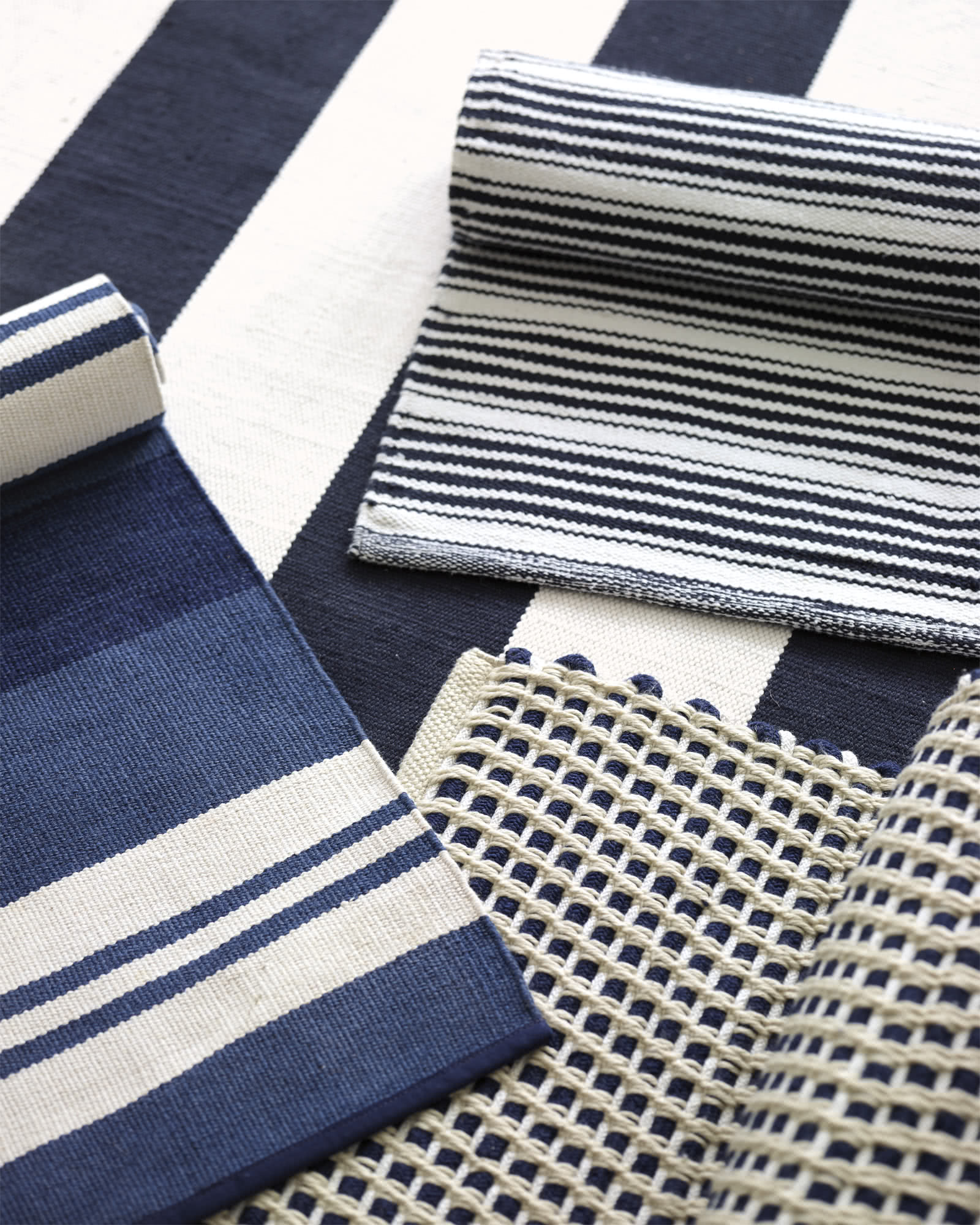Keaton Outdoor Rug, Navy