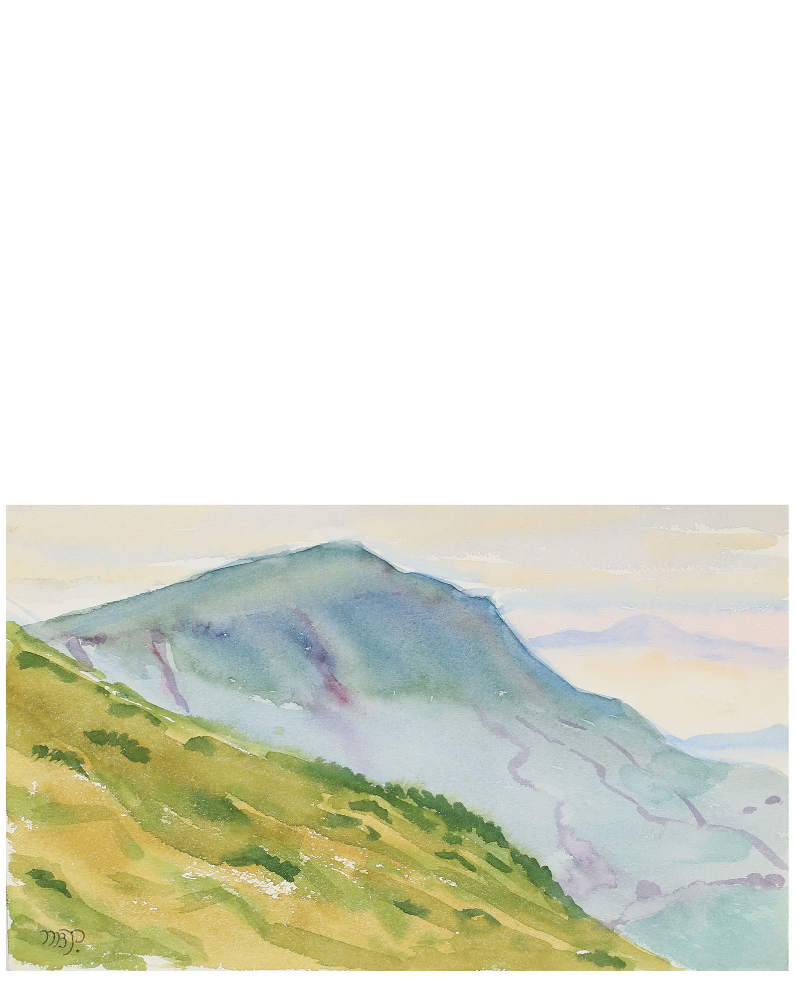 """Black Mountains"" by Mary Pomeroy,"