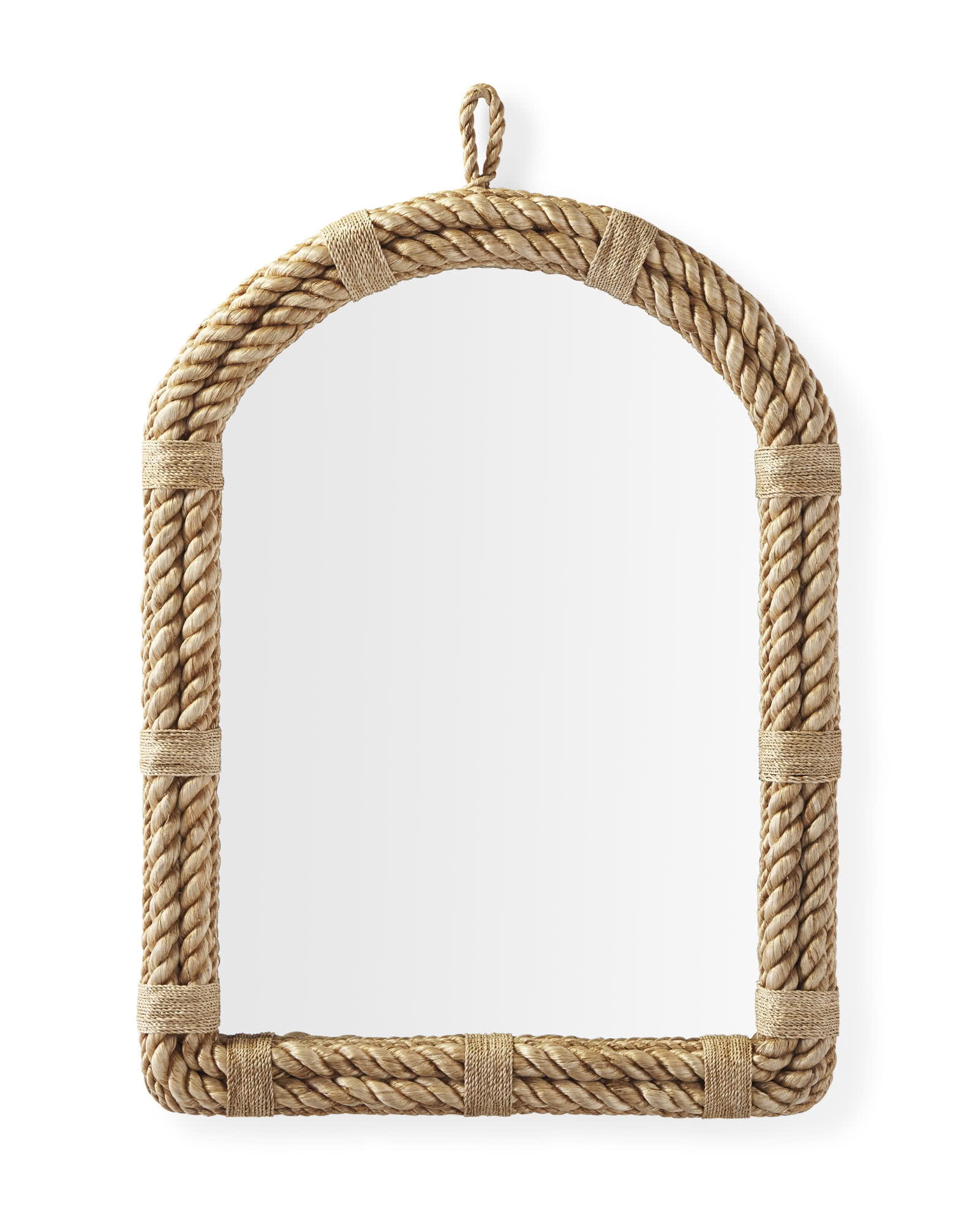 Nautical Rope Arch Mirror,