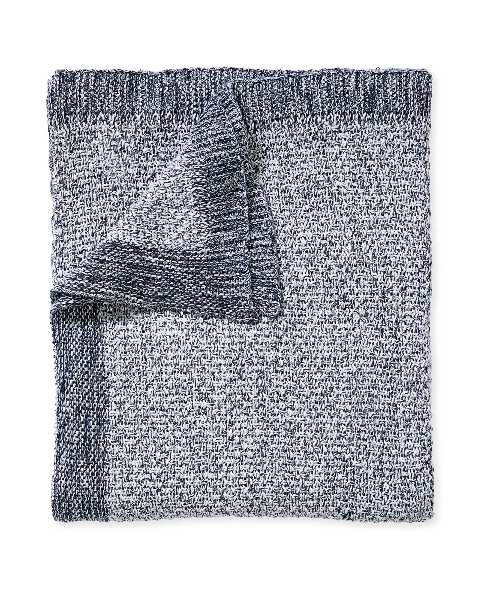Carlsbad Cotton Throw, Navy