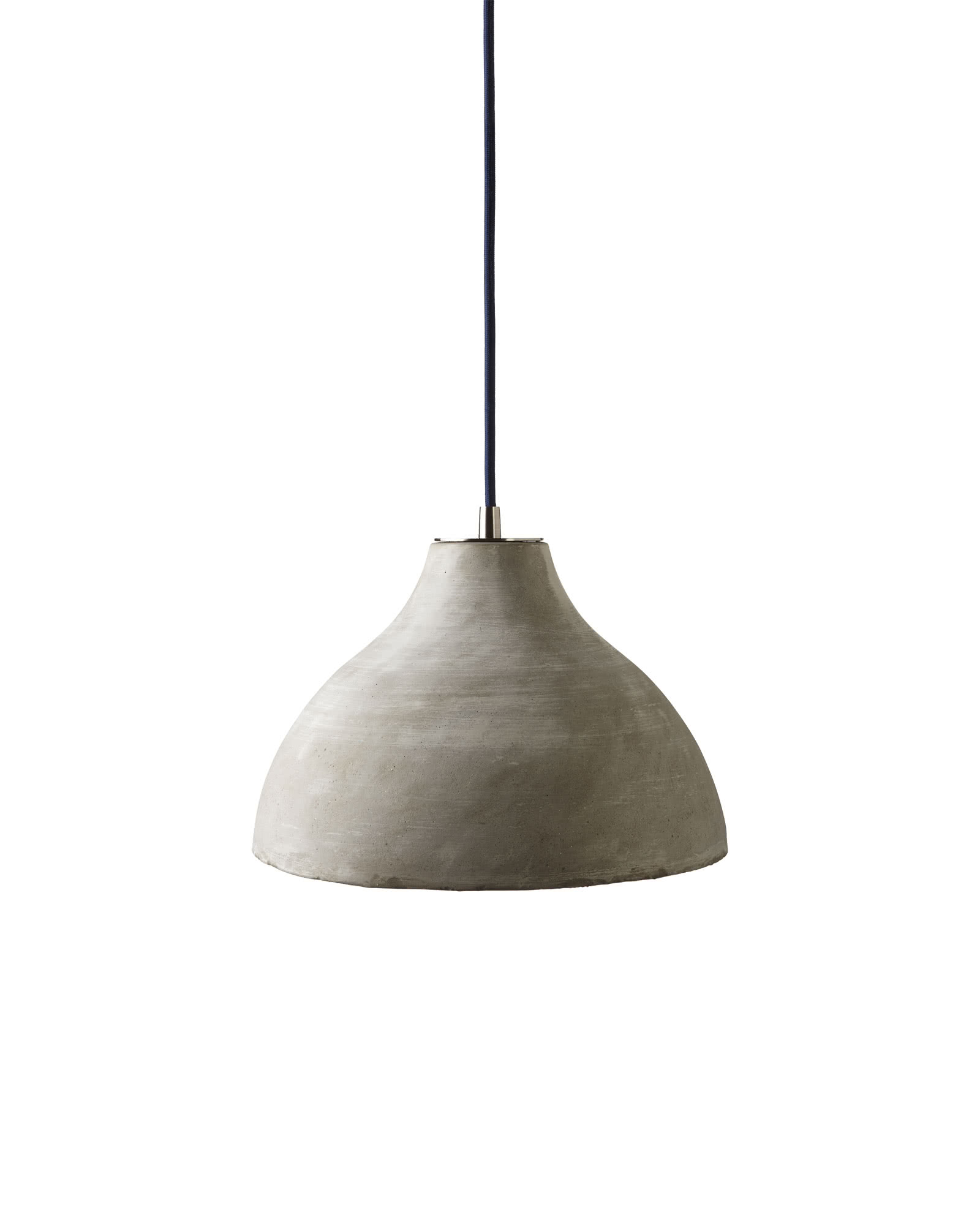 ash pendant in drop sculpt light concrete pendants