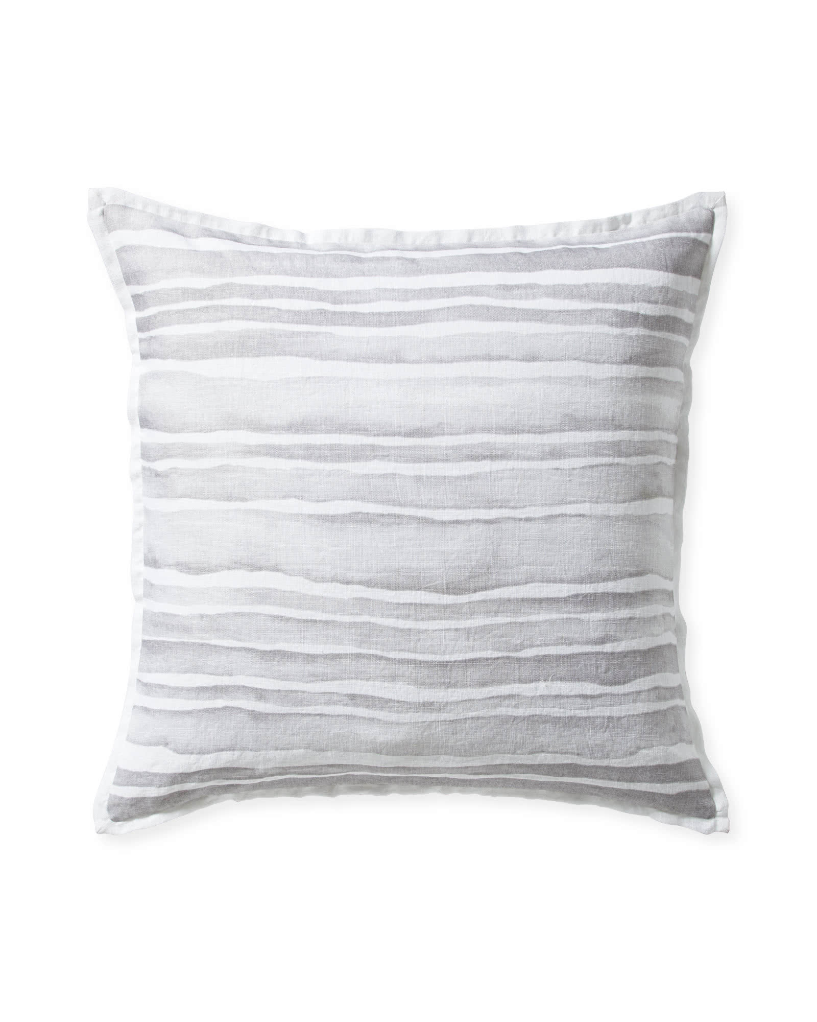 Cove Pillow Cover, Nickel