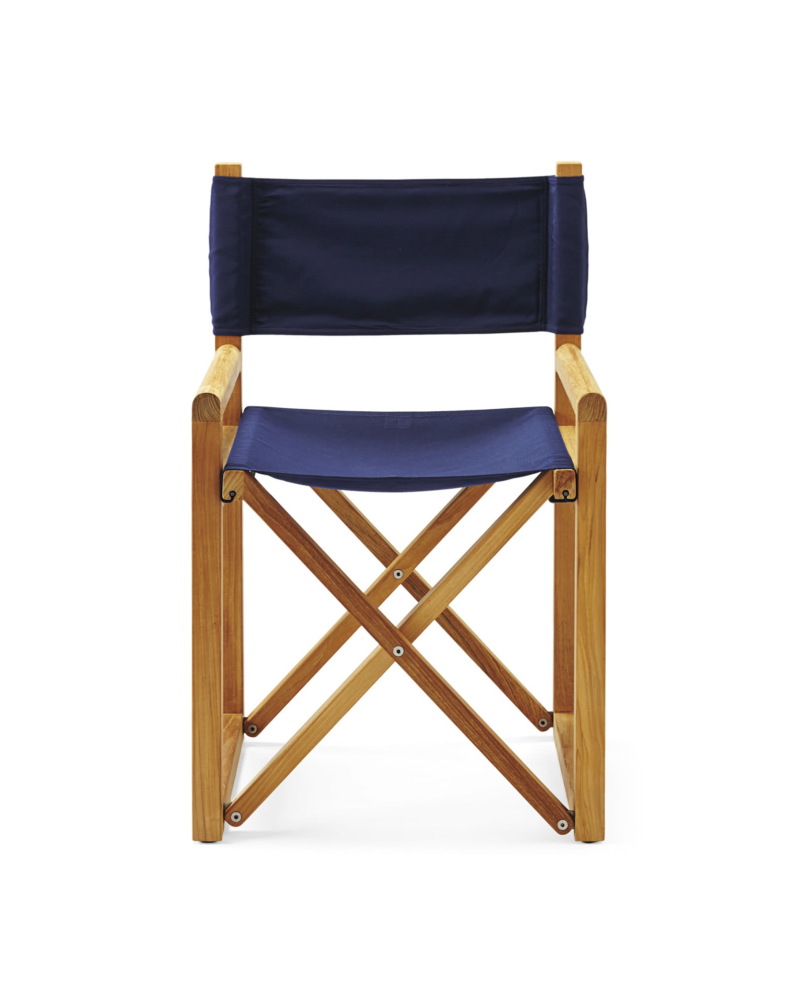 Directors Chair, Solid Canvas Navy