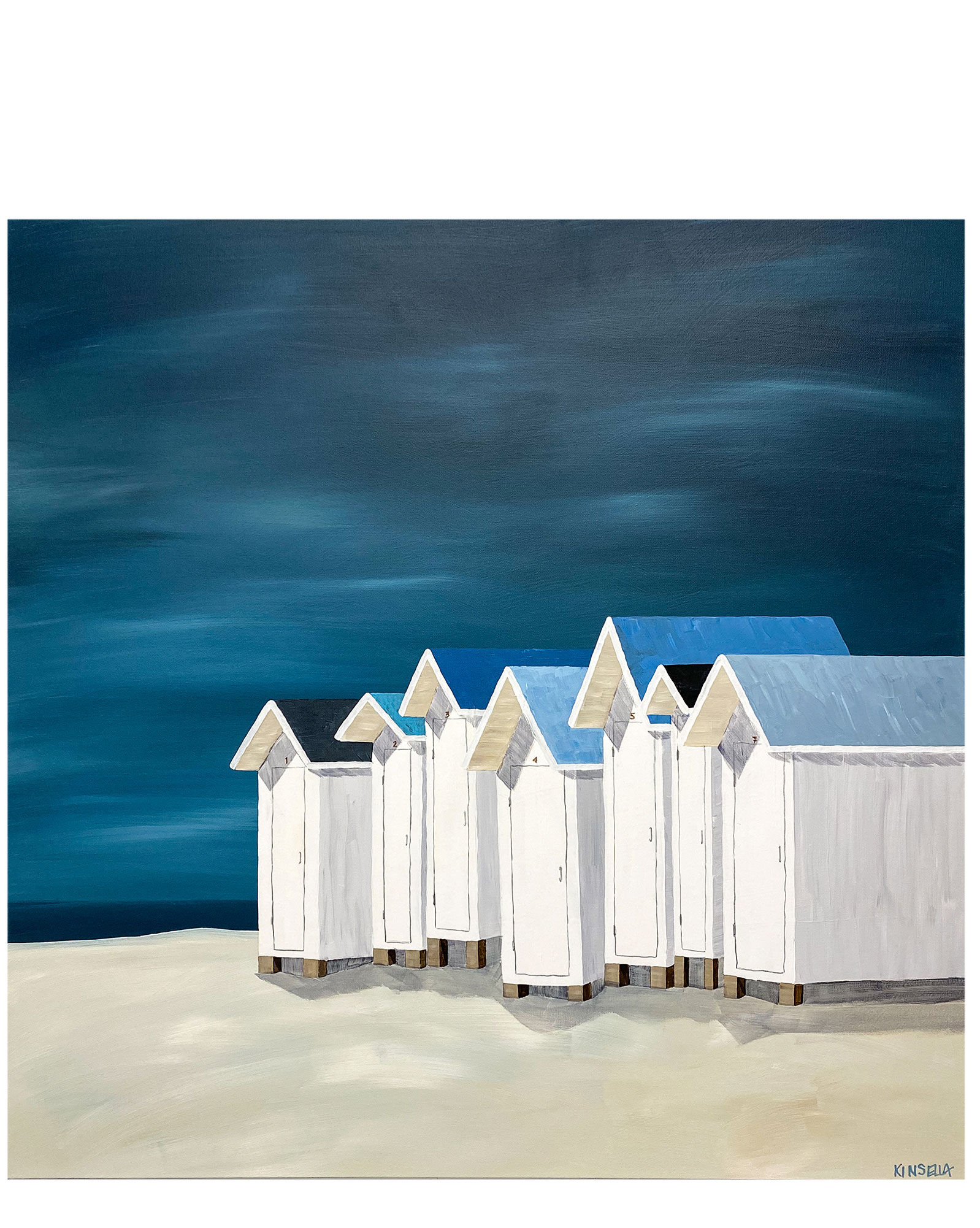 """Seaside Vacation"" by Susan Kinsella,"