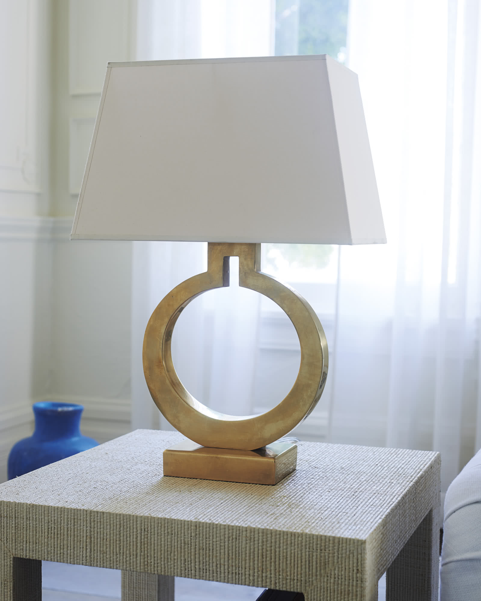 Brass Ring Table Lamp Serena Amp Lily