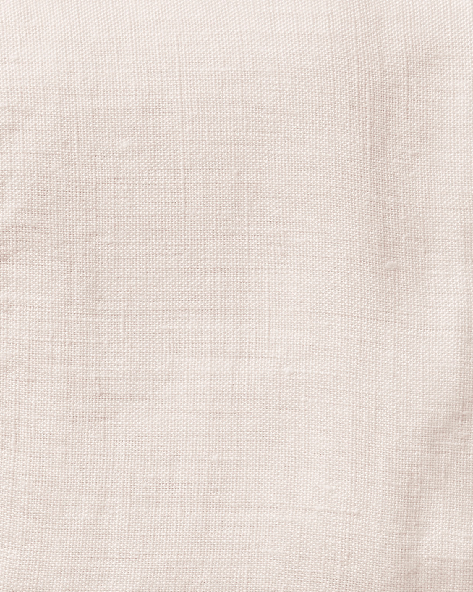 Cavallo Linen Bedding Swatch, Pink Sand Chambray