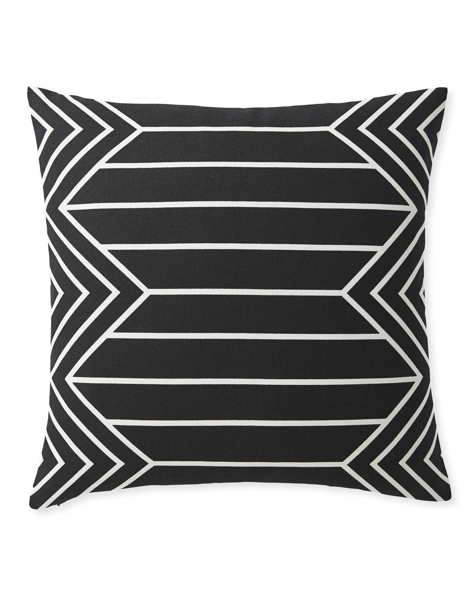 Portsmouth Outdoor Pillow Cover, Black