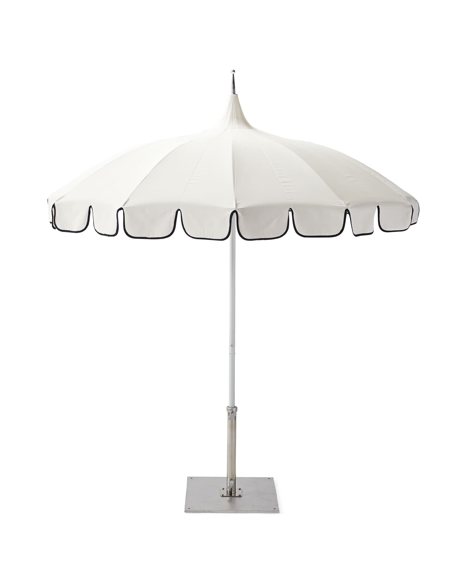 Eastport Umbrella, White/Navy