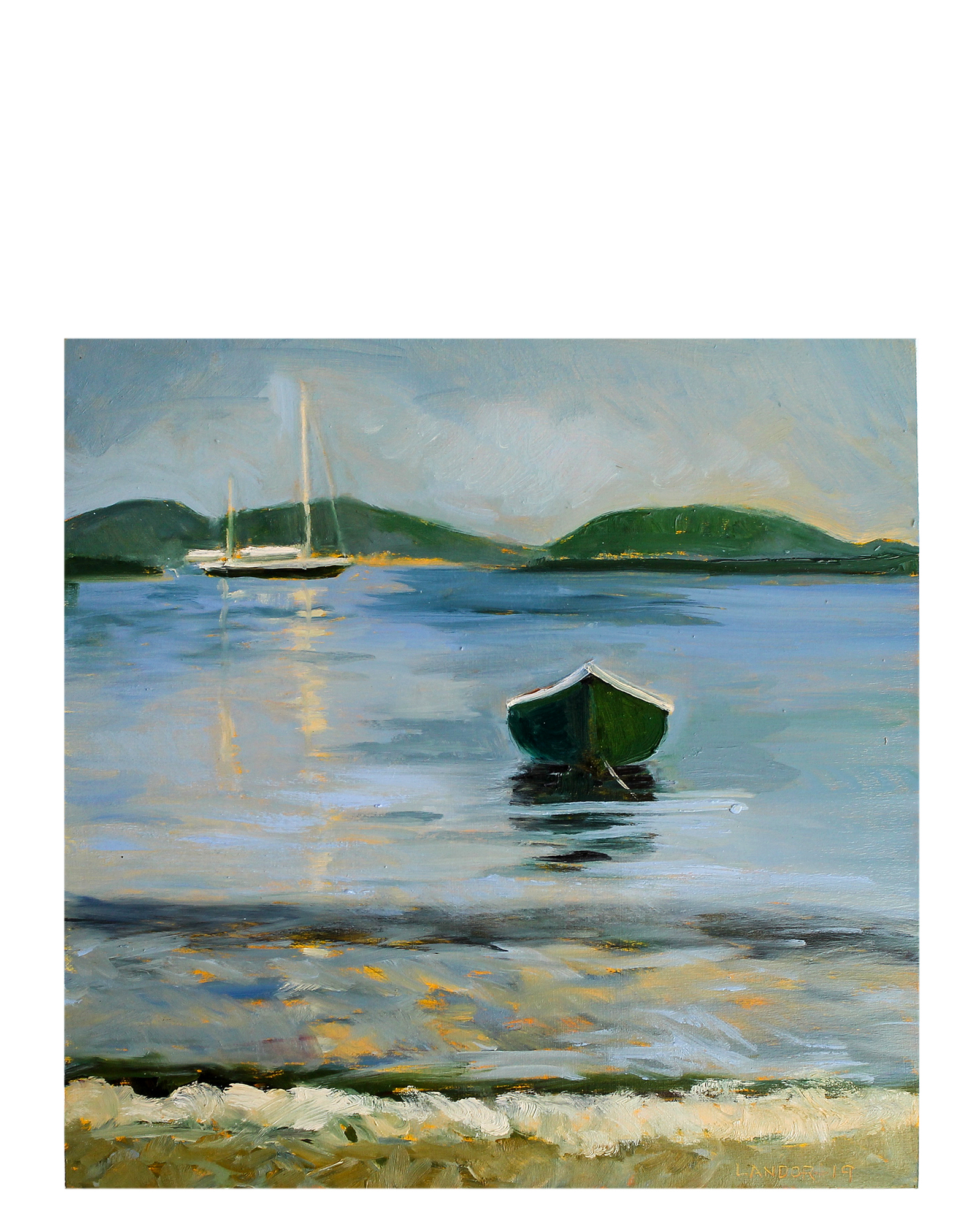 """Morning Row"" by Susan Landor Keegin,"