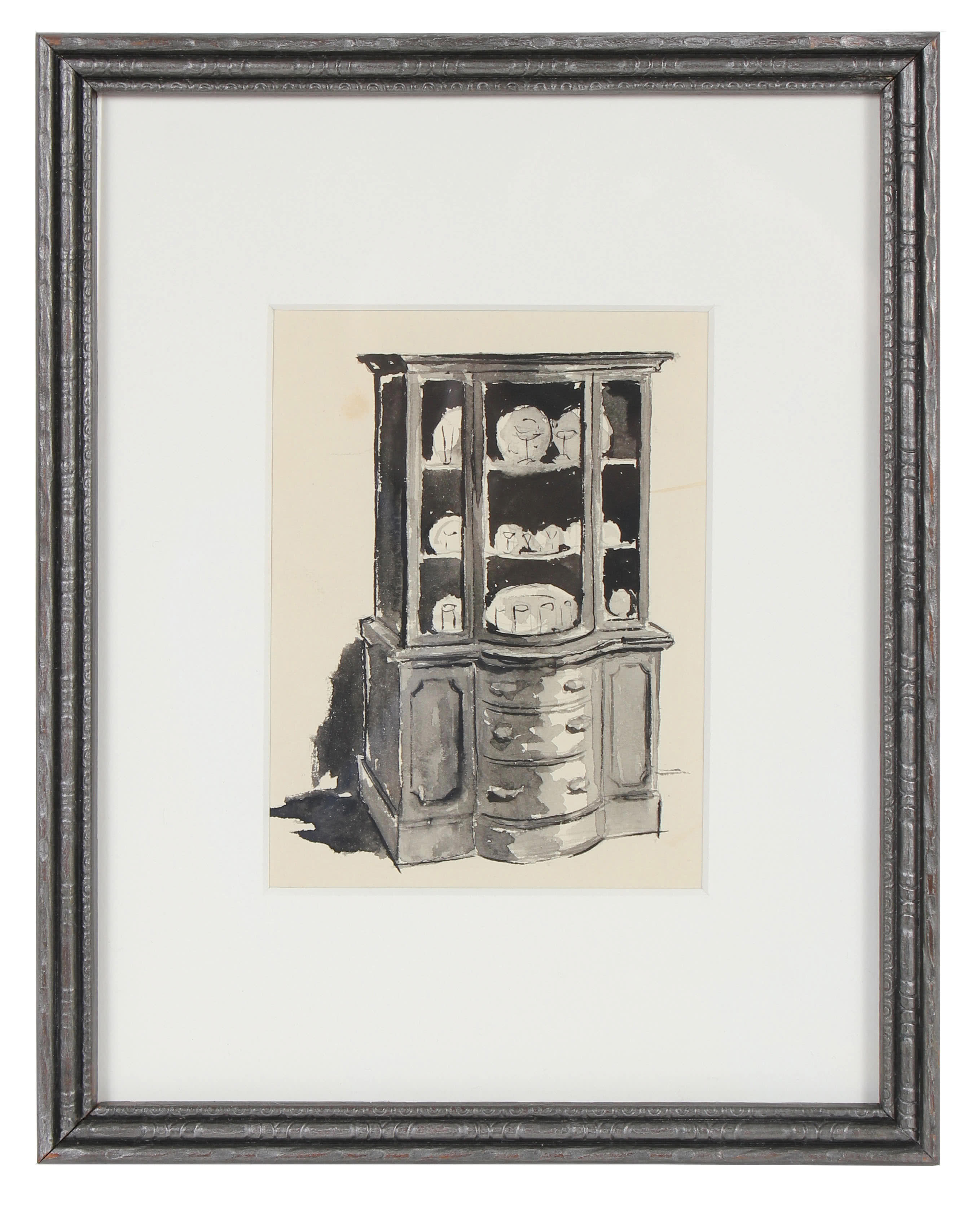 """China Cabinet"" by Jane Mitchell,"