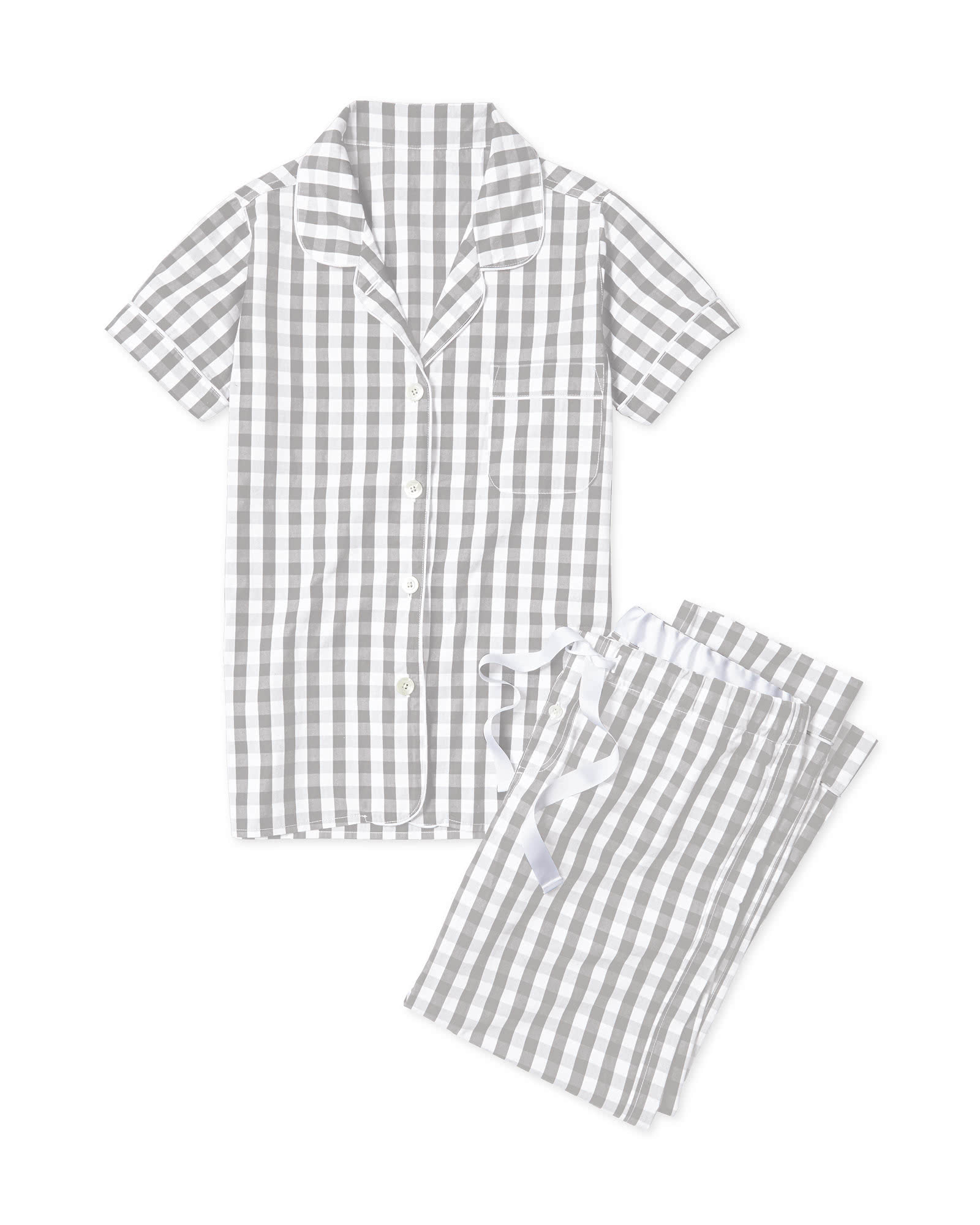 Gingham Pajamas,