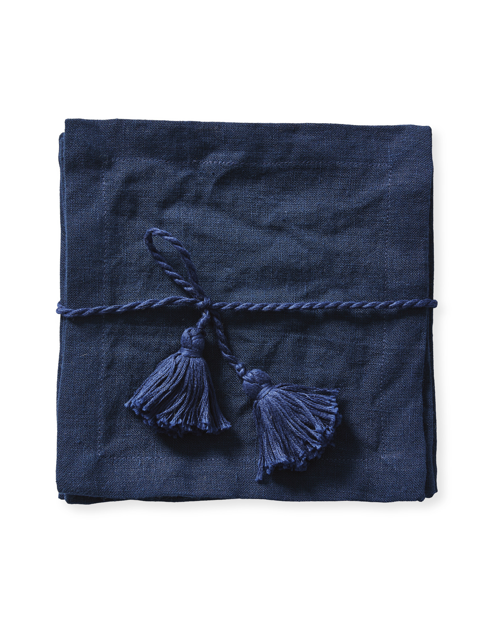 Salento Cocktail Napkins, Navy