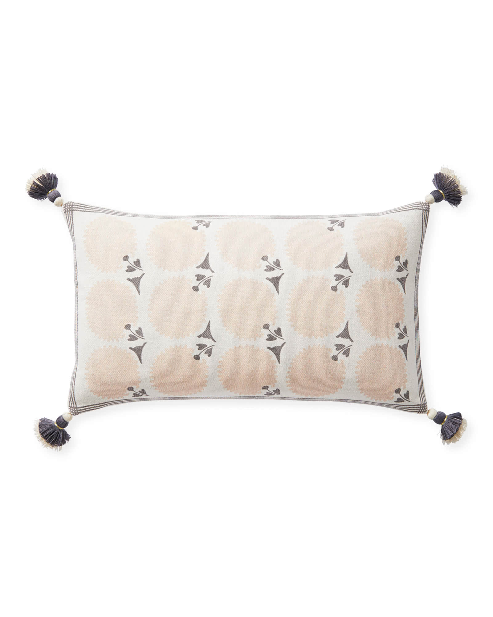 Birchwood Pillow Cover, Pink Sand