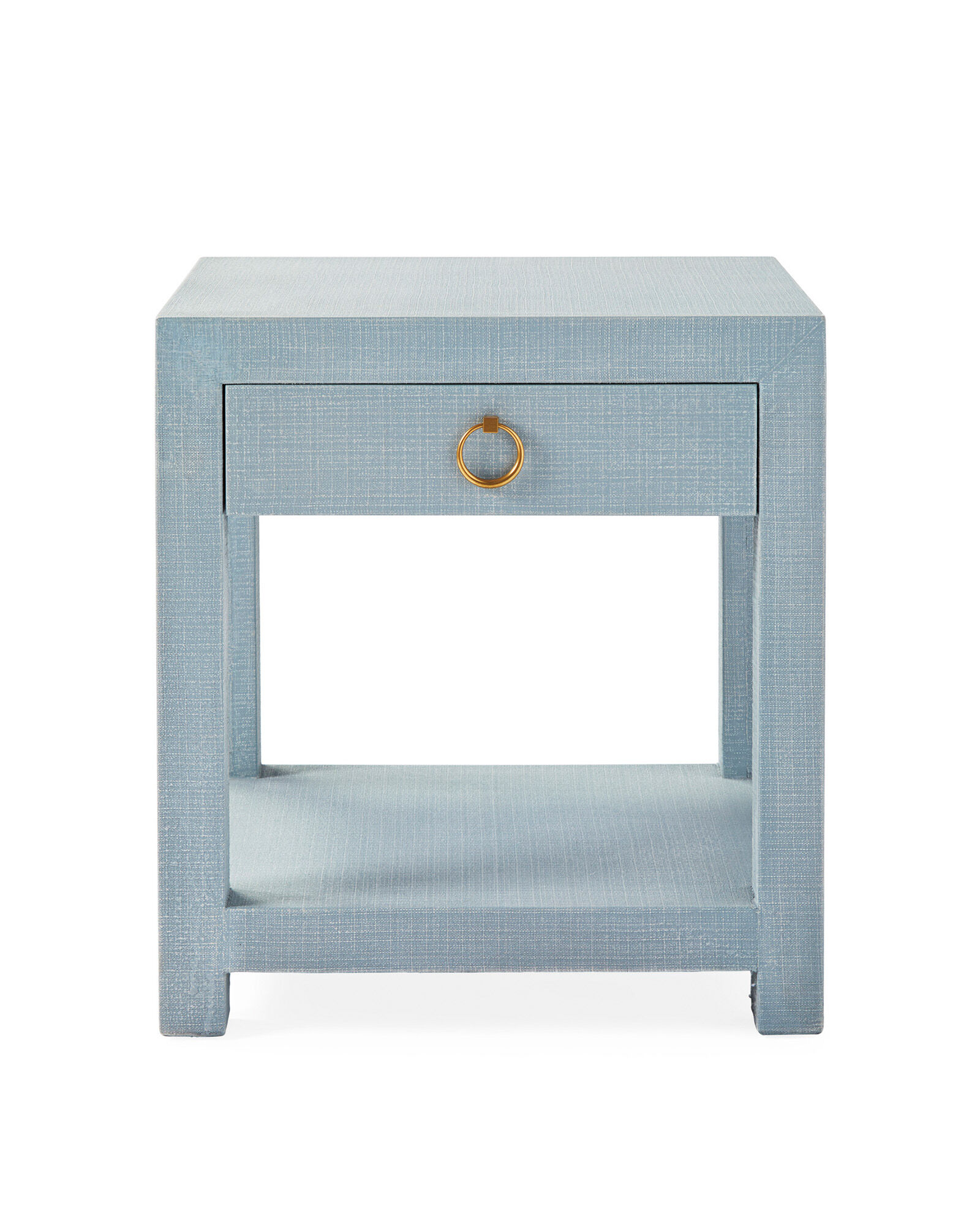 Driftway 1-Drawer Nightstand, Coastal Blue