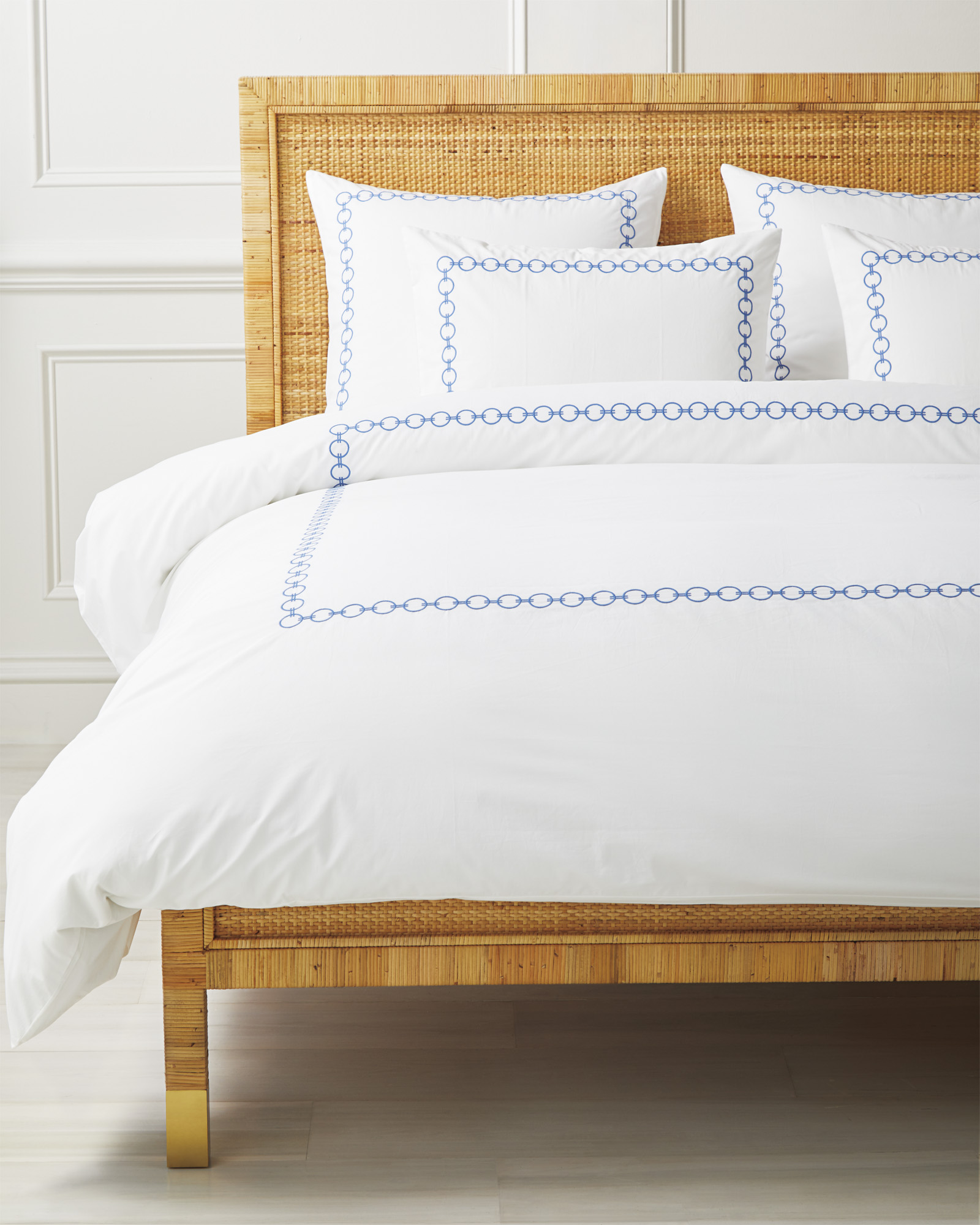 Bel Air Duvet Cover, French Blue