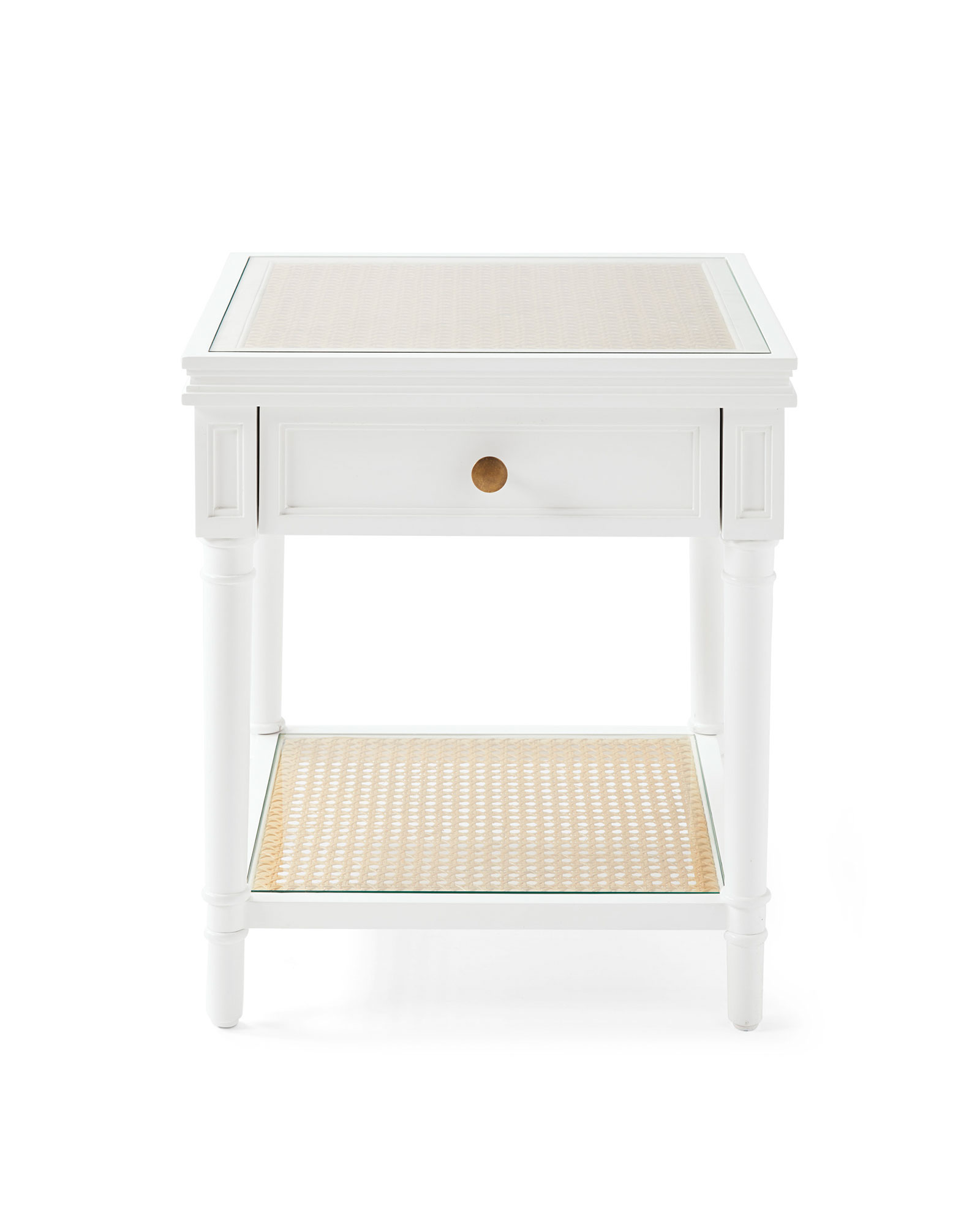 Harbour Cane Side Table,