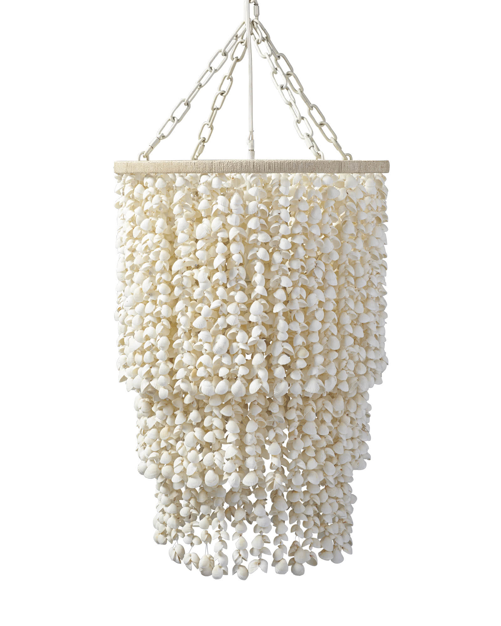 lighting shell chandeliers capri with seashell chandelier