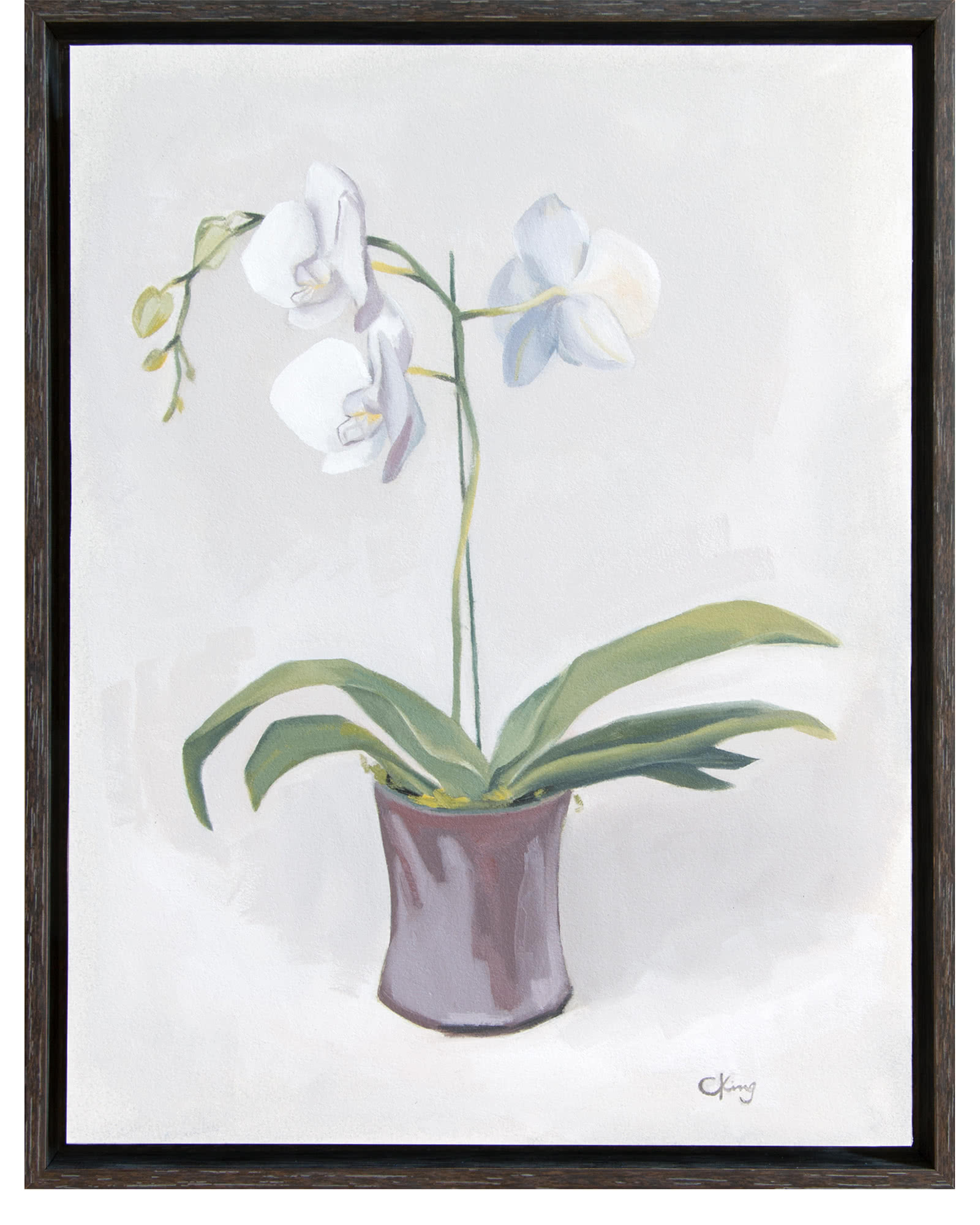 """Orchid"" by Christy King,"