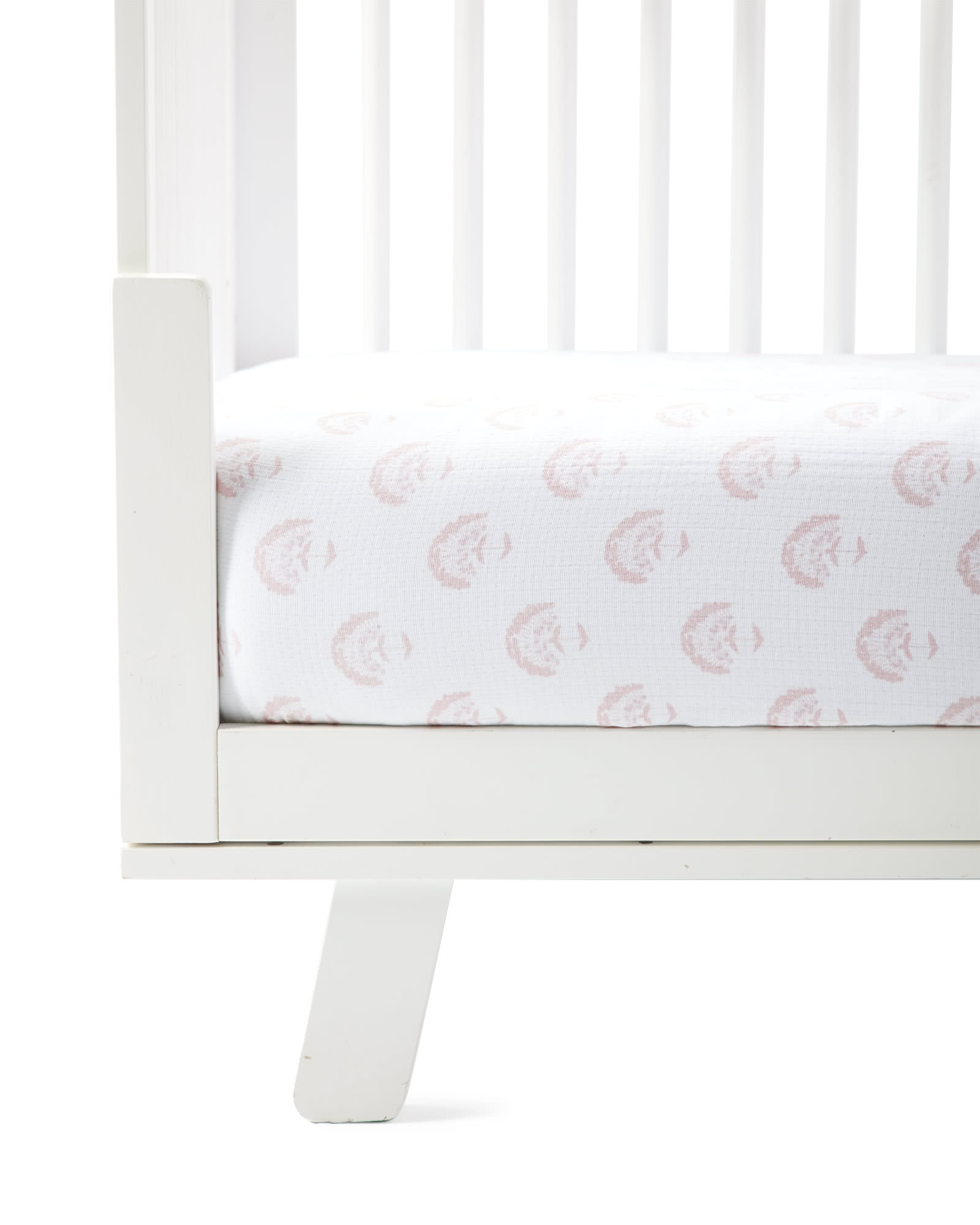 Astoria Crib Sheet, Pink Sand