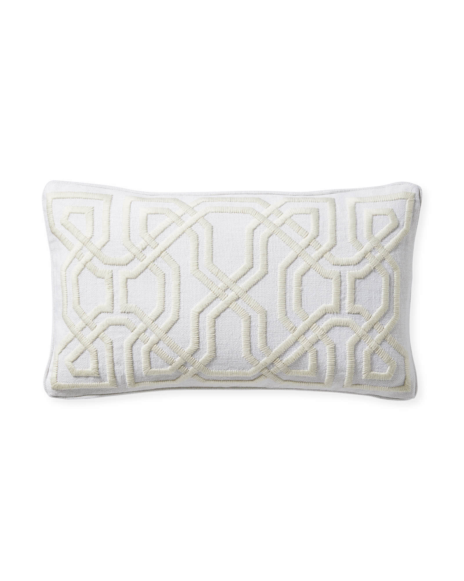 Jetty Pillow Cover, Ivory
