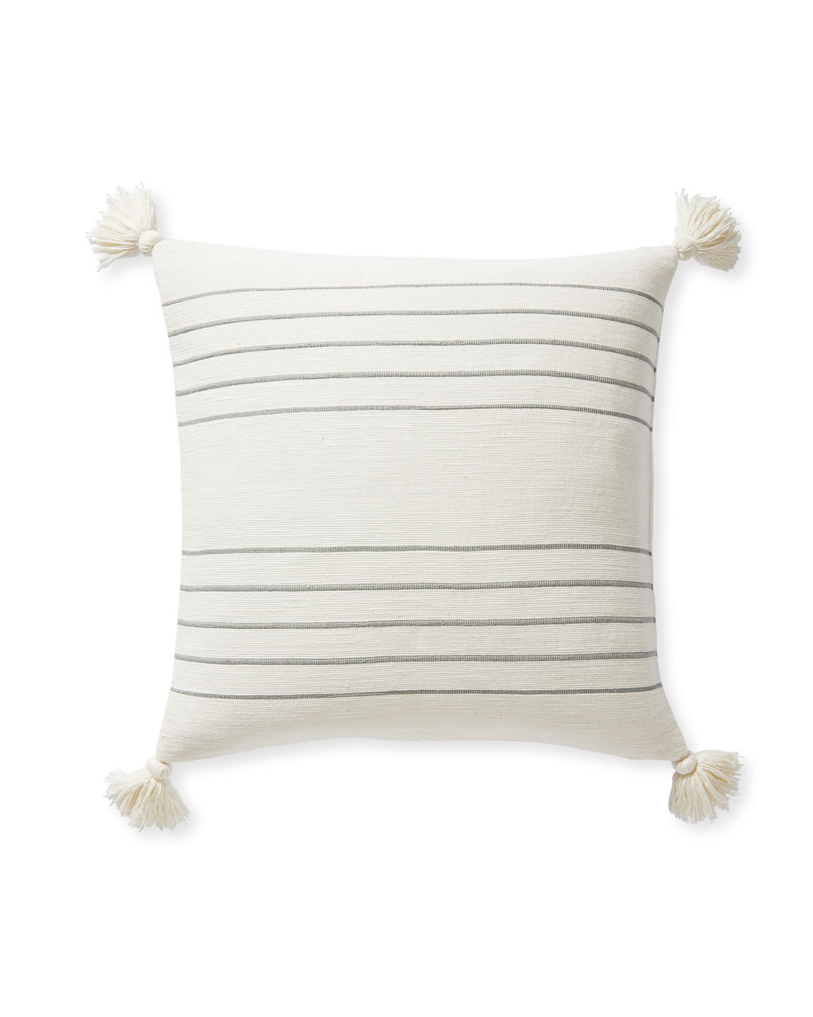 Del Mar Pillow Cover, Smoke