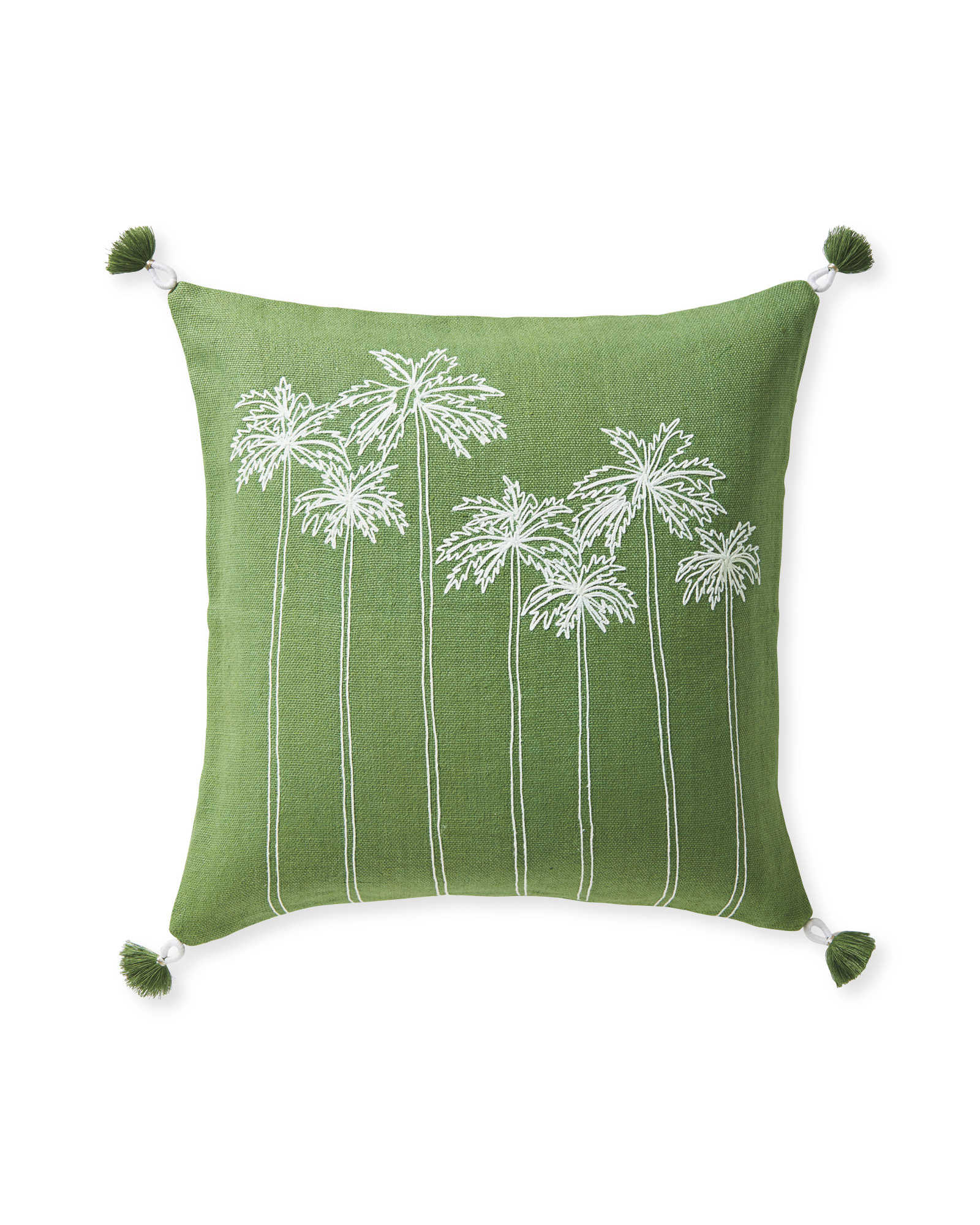Seabreeze Pillow Cover, Moss