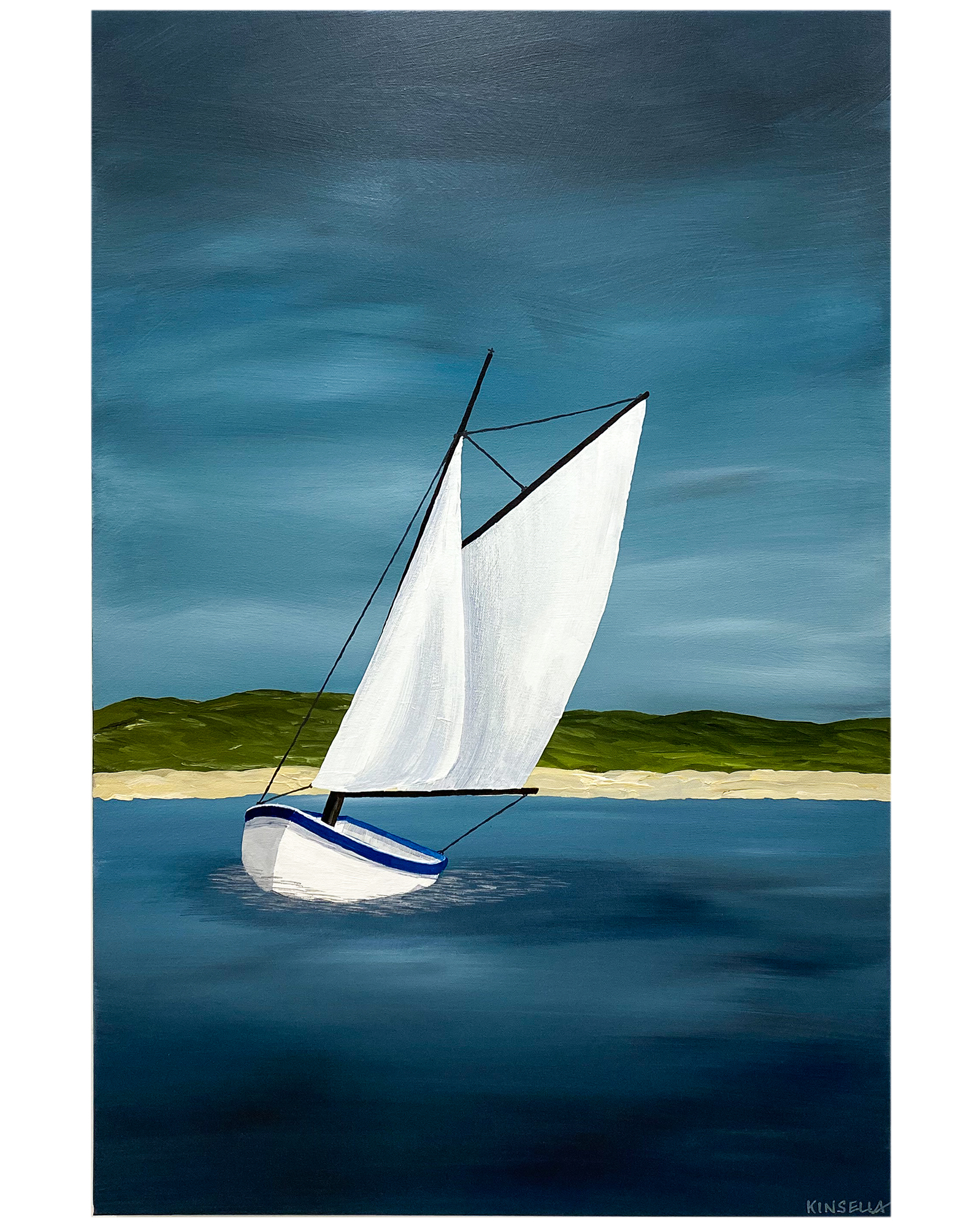 """""""In the Bay"""" by Susan Kinsella,"""