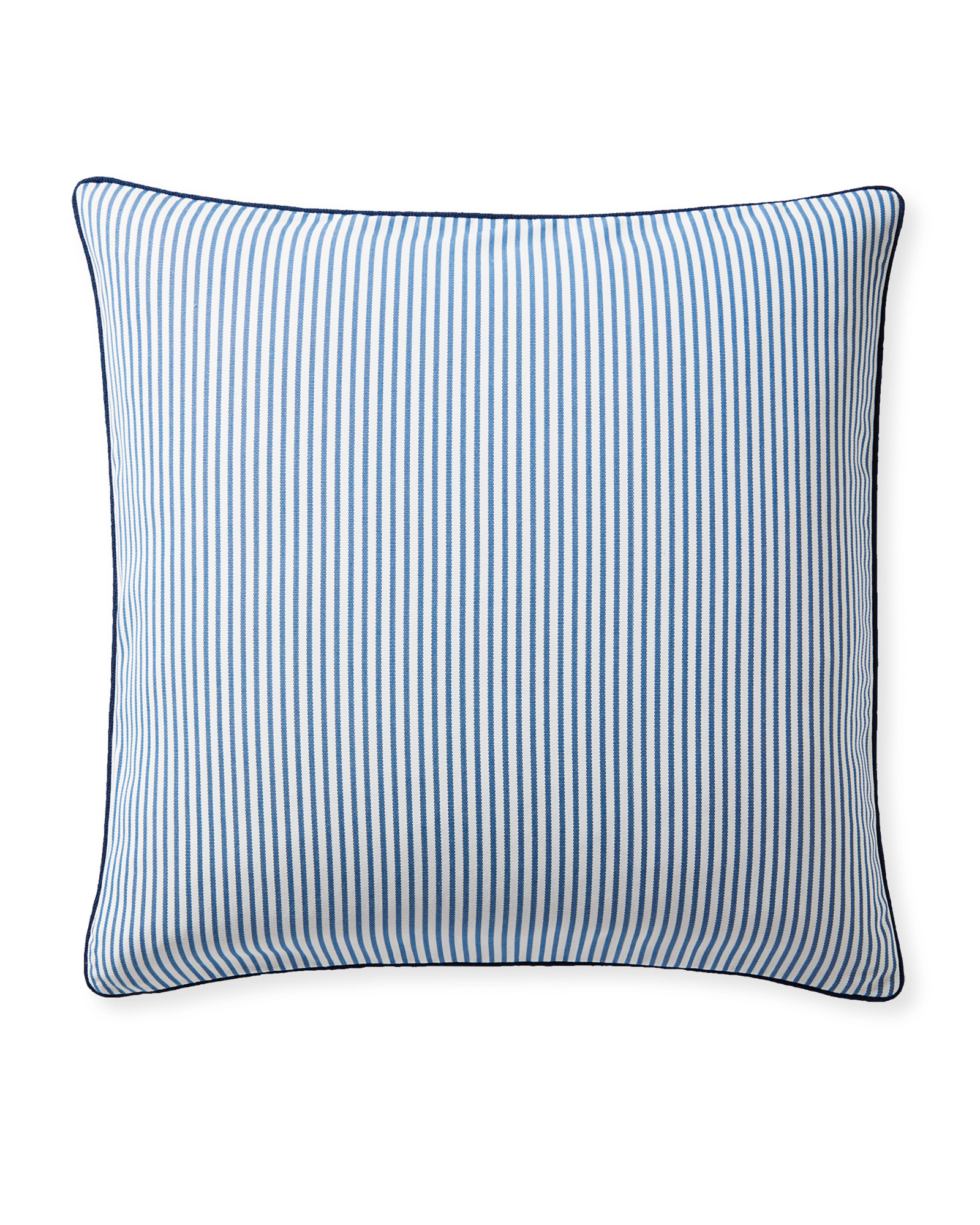 Perennials® Pinstripe Pillow Cover, French Blue/Navy