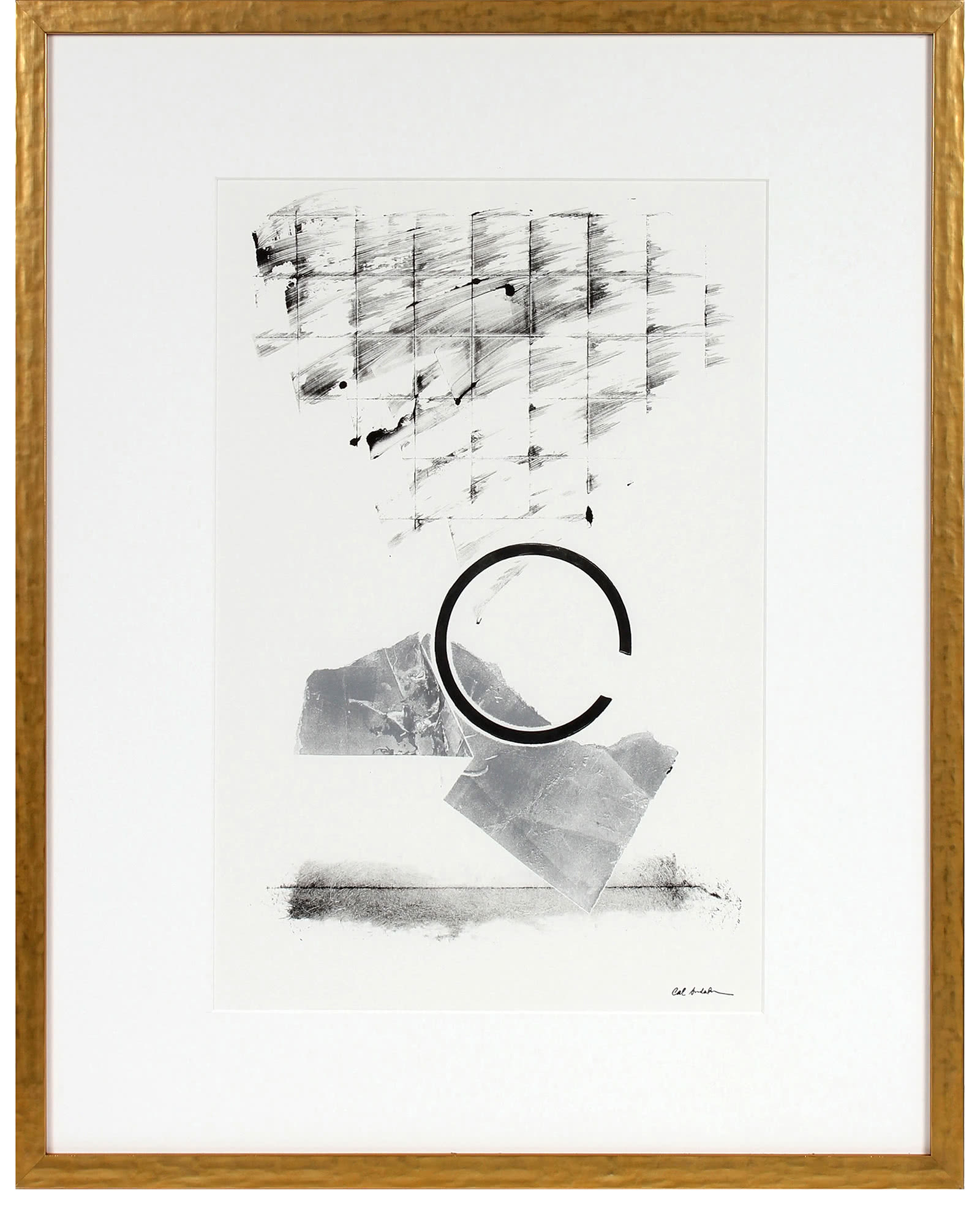 """""""Minimalist Abstract in Black and White"""" by Calvin Anderson,"""