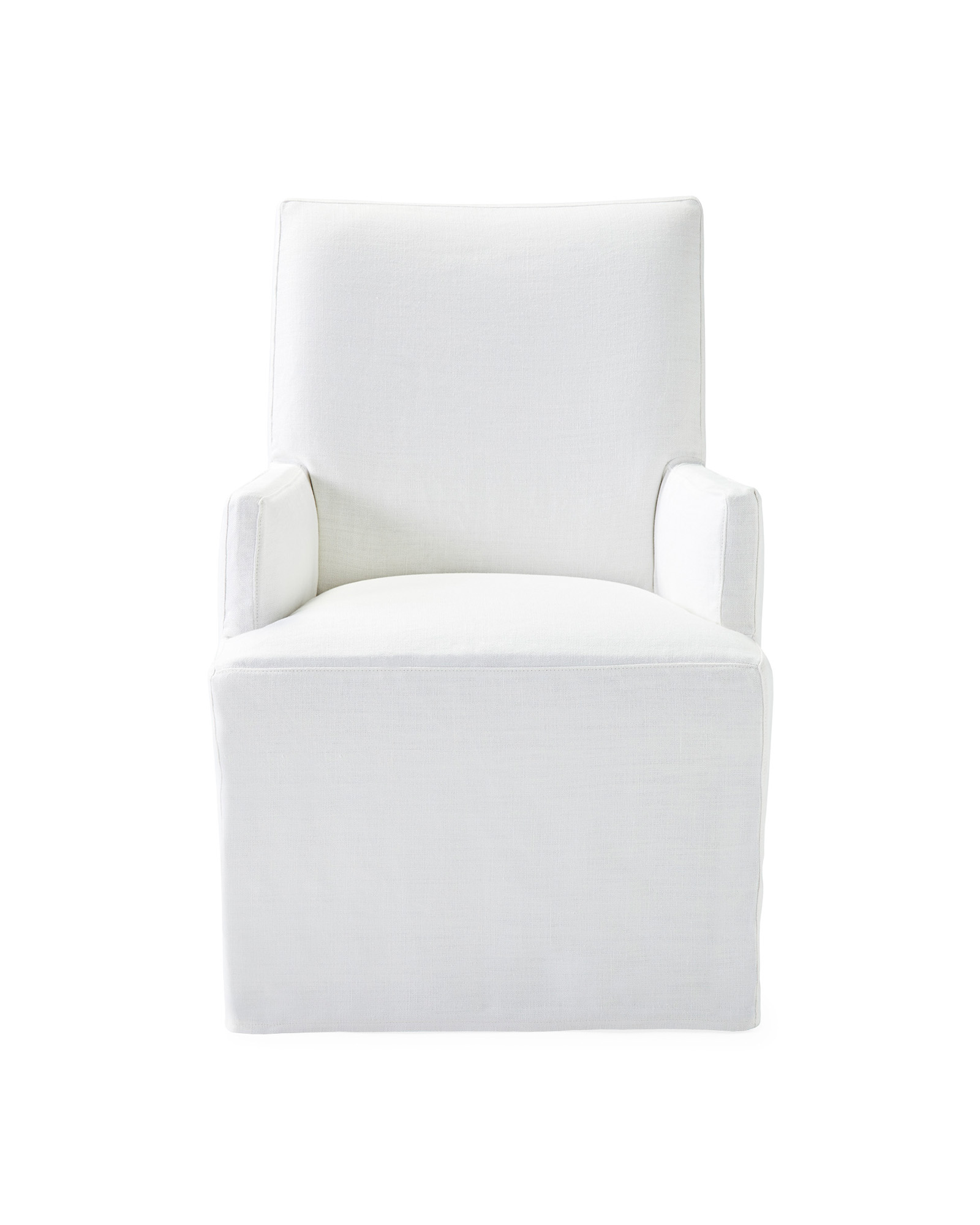 Ross Armchair long slipcovered - Serena & Lily