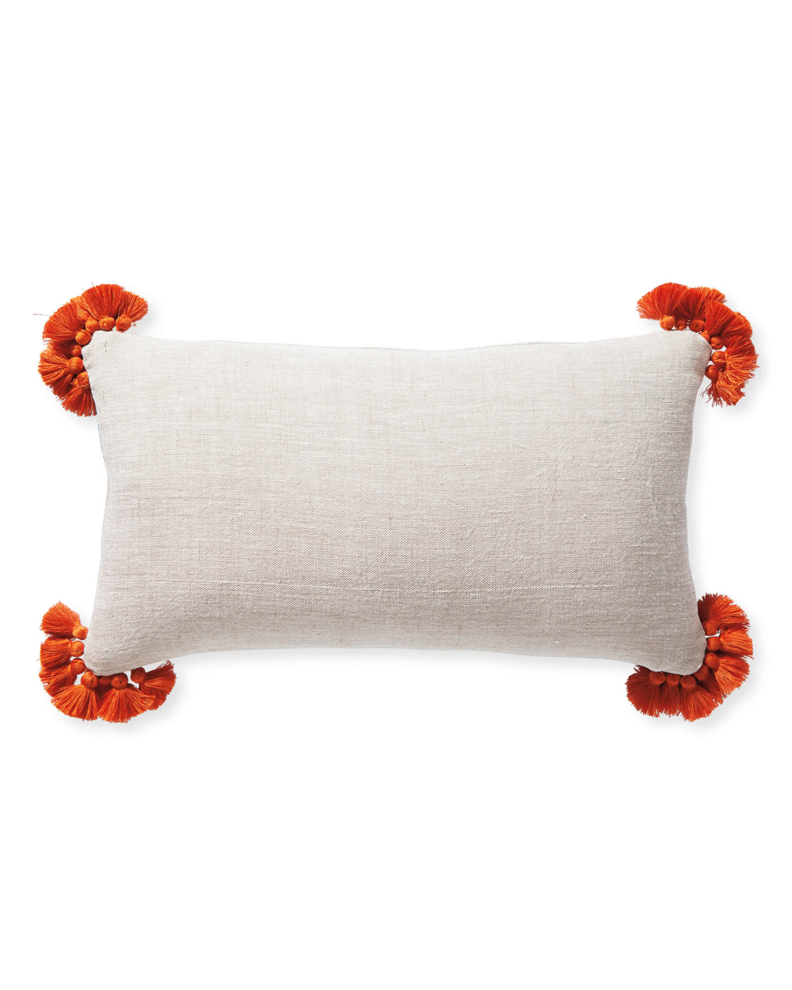 Cayucos Pillow Cover, Sand/Terracotta