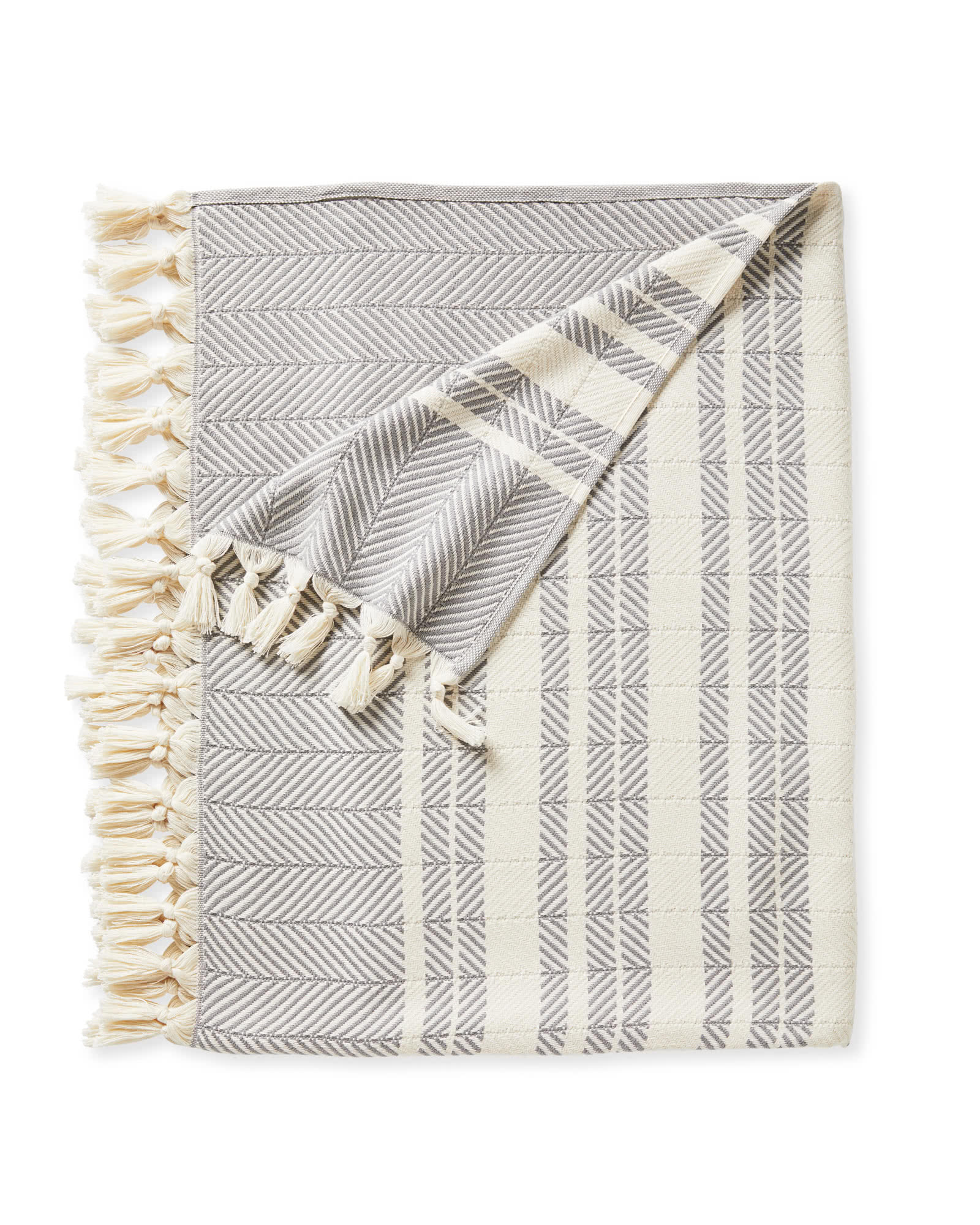 Palermo Cotton Throw, Smoke