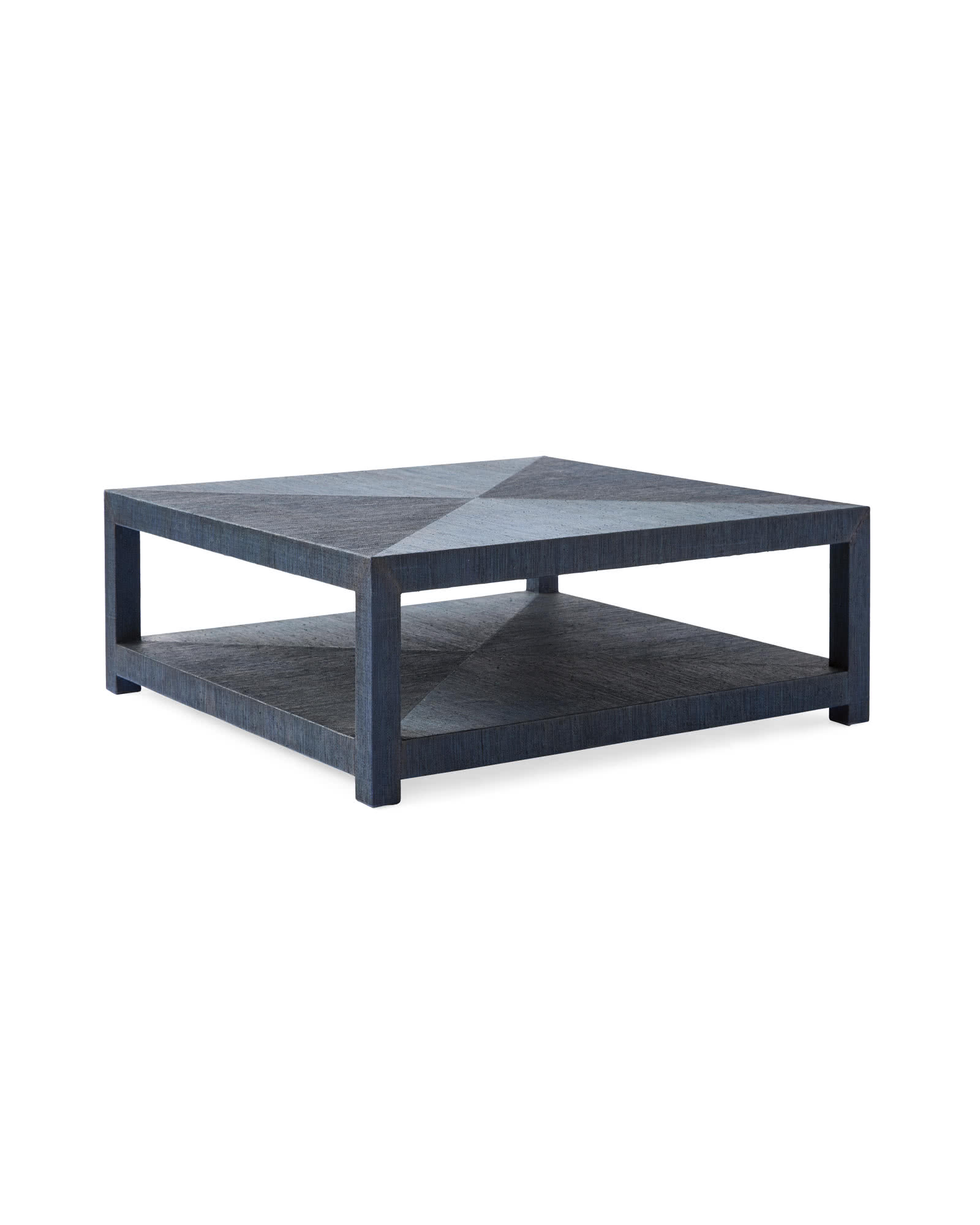 Blake Square Coffee Table, Indigo