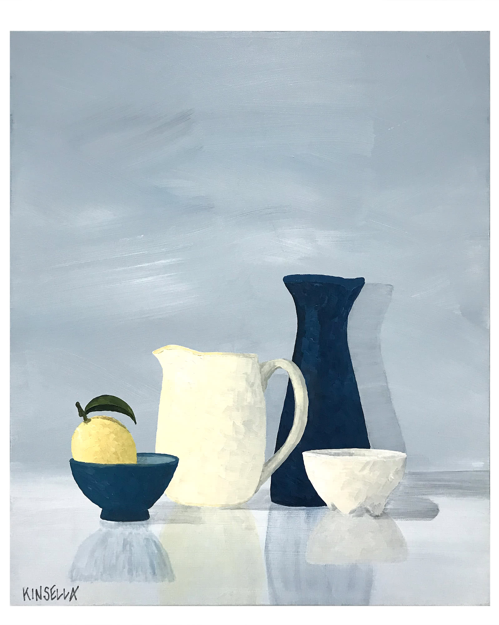 """Still Life with Blue Carafe"" by Susan Kinsella,"