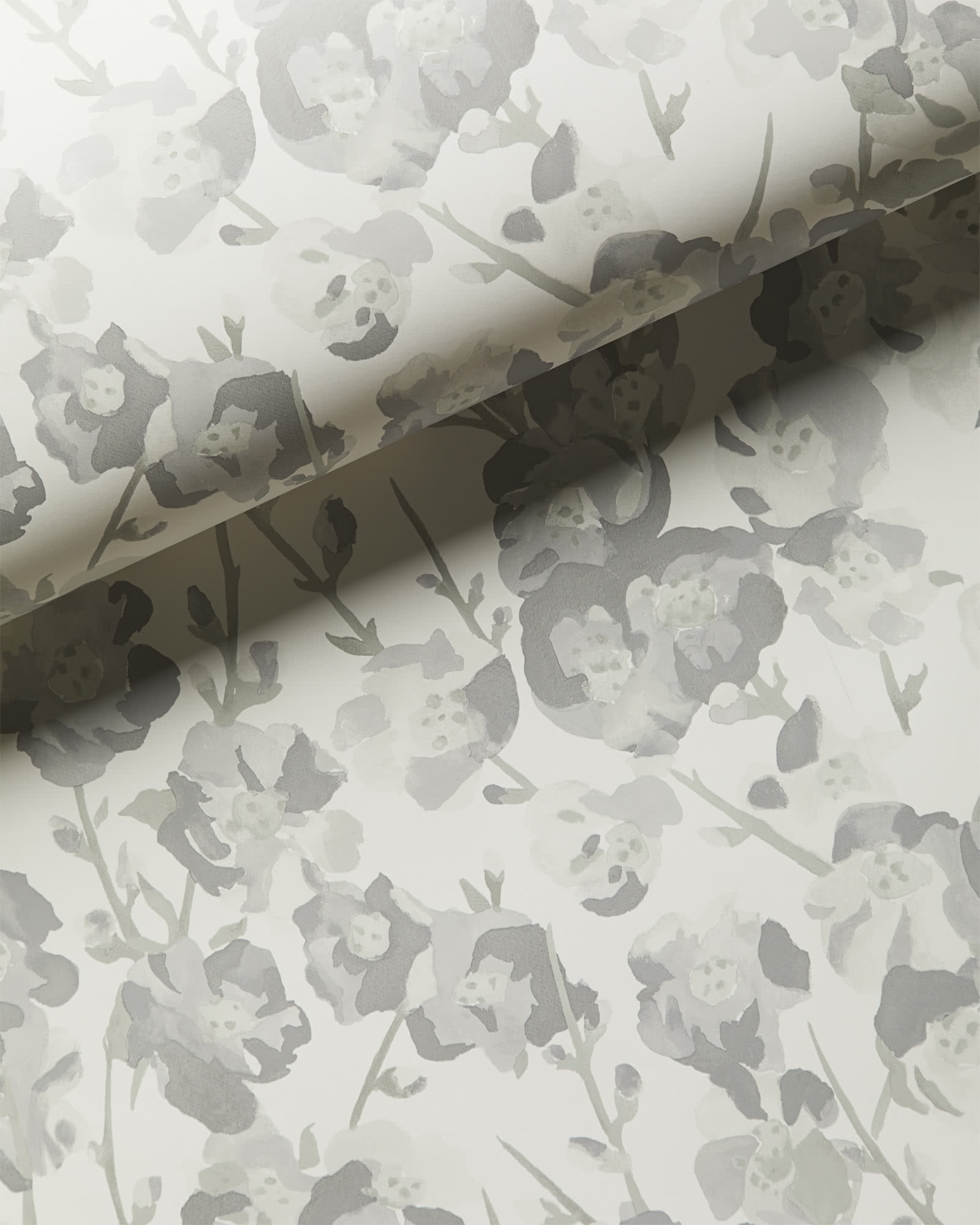 Fairfax Wallpaper, Grey