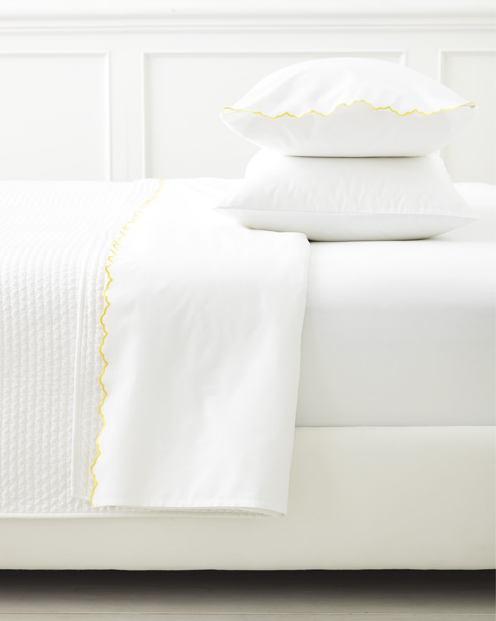 Scallop Embroidered Sheet Set Sunshine Serena Amp Lily
